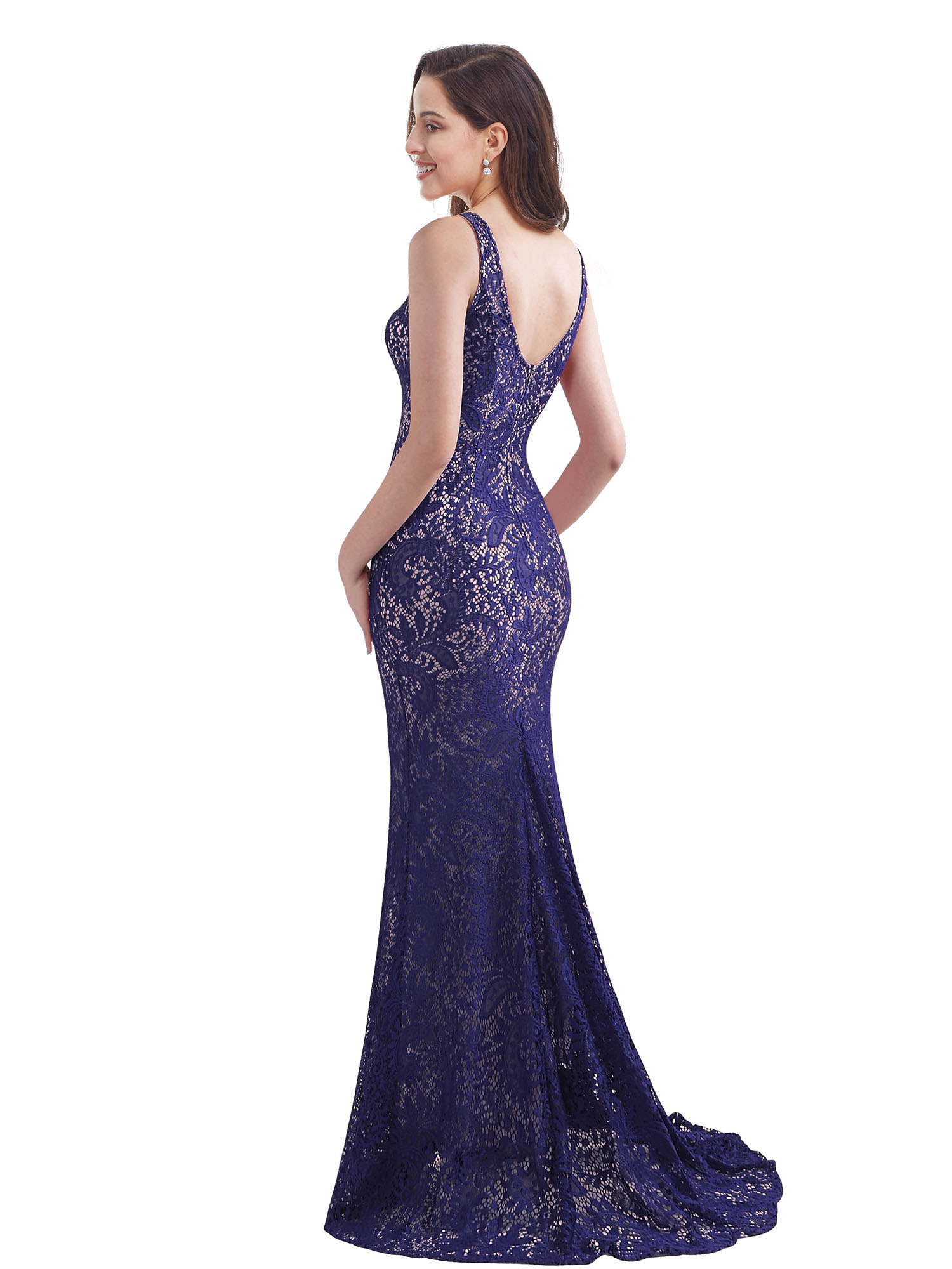 Ever-Pretty-Sleeveless-Long-Formal-Evening-Dresses-Lace-Party-Prom-Dress-08859 thumbnail 5