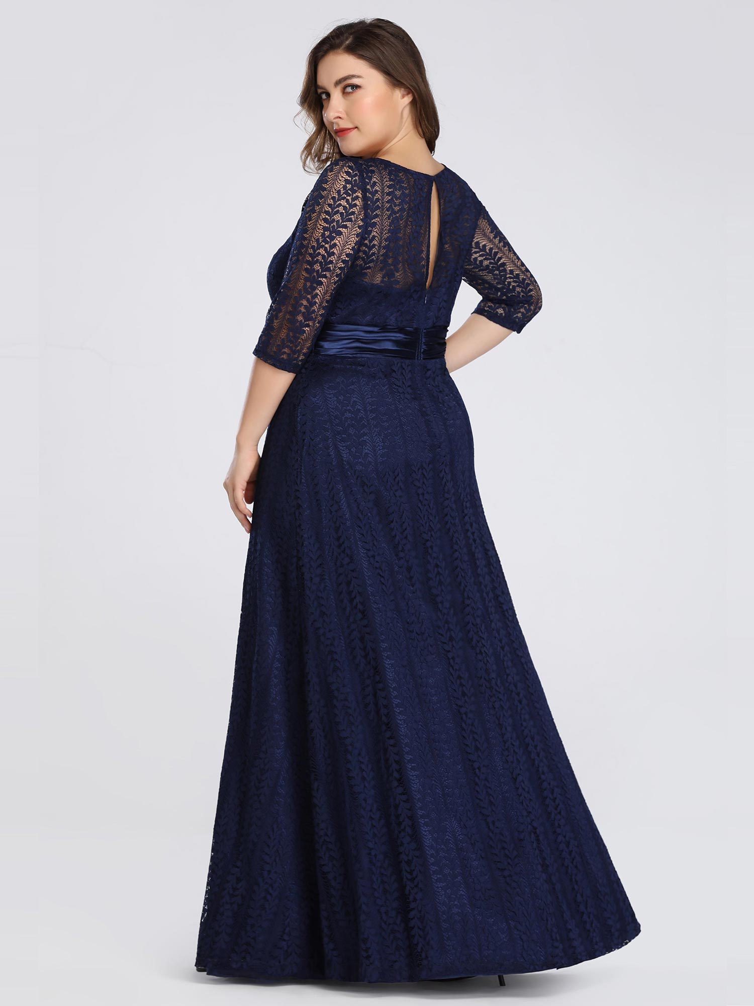 Ever-Pretty-Long-Mother-Of-The-Bride-Dress-Evening-Formal-Party-3-4-Long-Sleeve