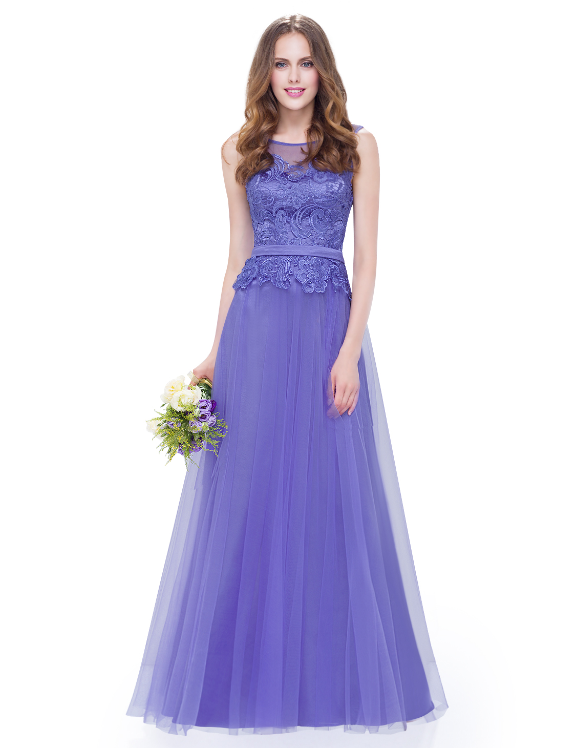 Ever-Pretty New Long Bridesmaid Dresses Short Wedding Formal Party ...
