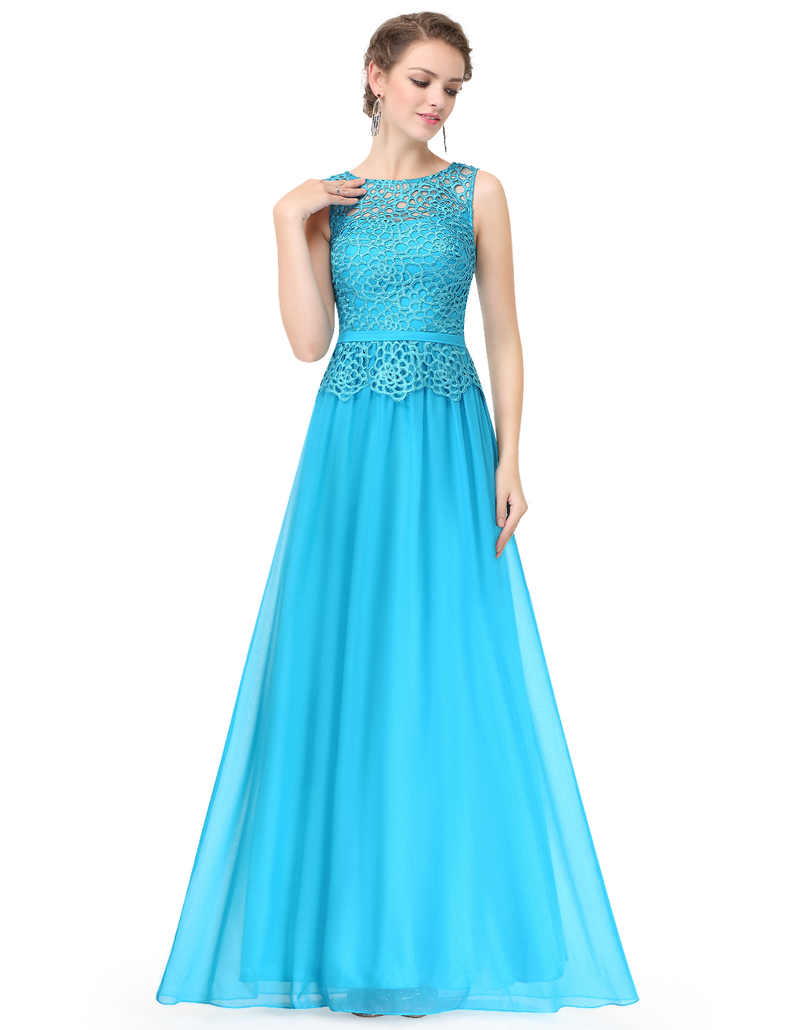 Long Bridesmaid Wedding Party Dresses Evening Party Prom Gowns 08904 ...