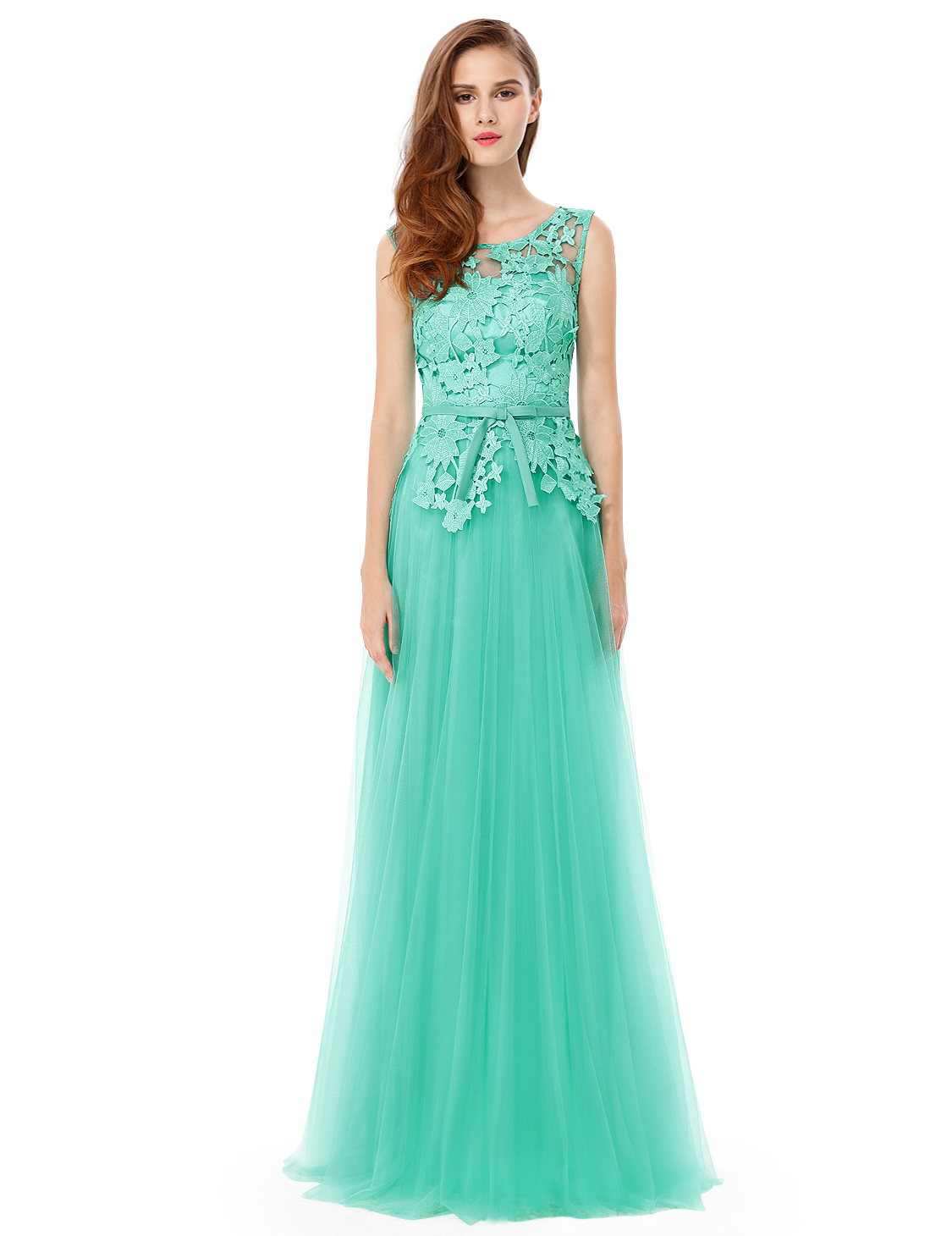 Women\'s Long Bridesmaid Wedding Dresses Evening Party Ball Gown ...