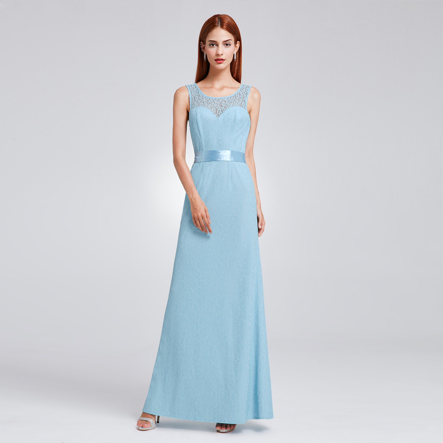 US Women Formal Wedding Bridesmaid Dress Long Evening Party 08938 ...