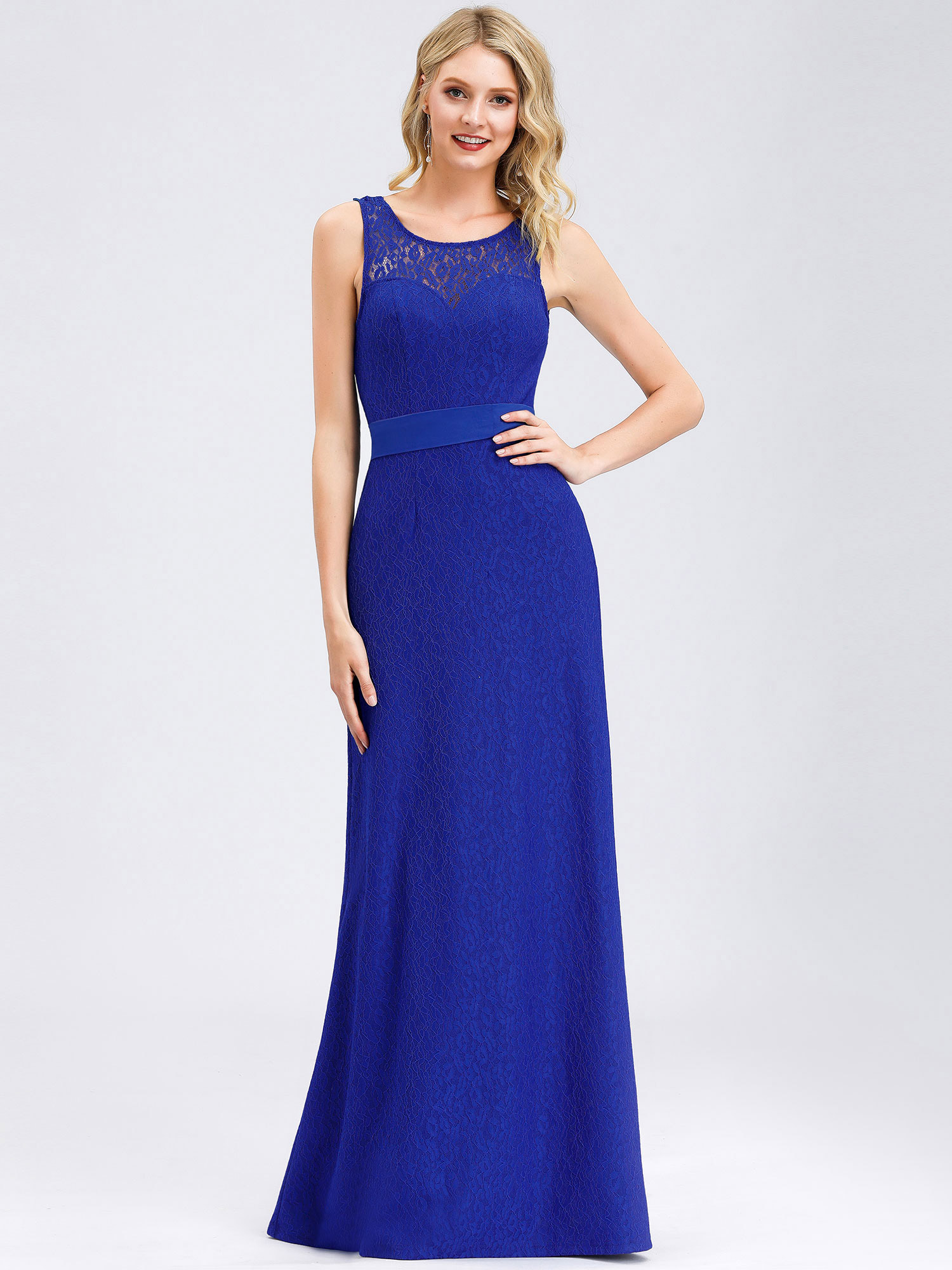 Ever-pretty UK Long Lace Formal Evening Party Dresses Cocktail Prom ...