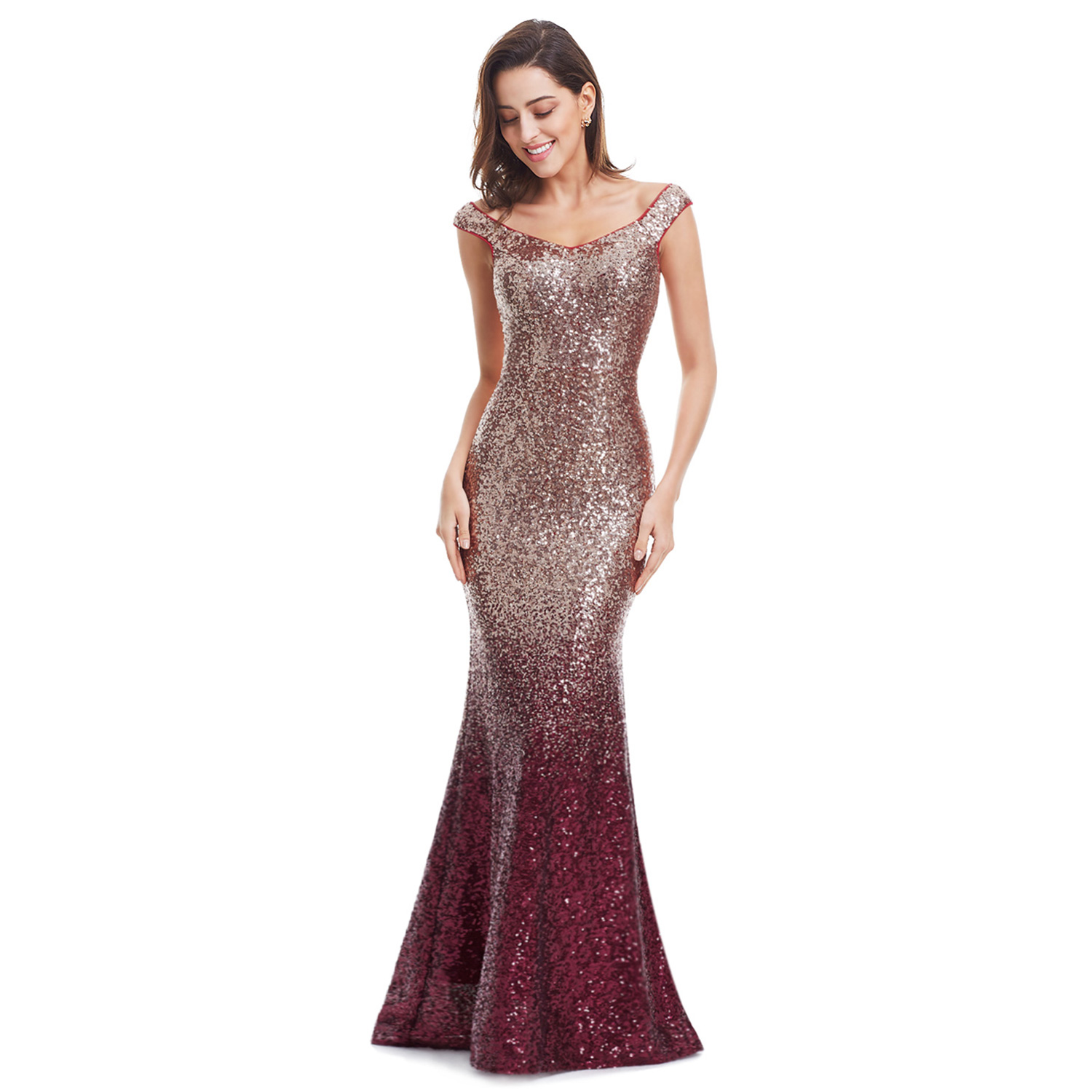 Mermaid Cocktail Party Dress