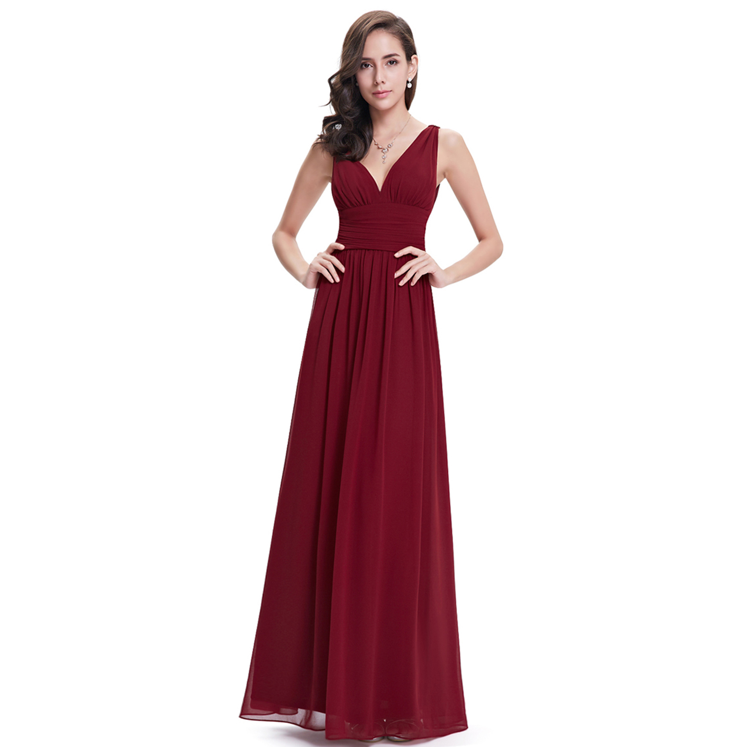 Ever pretty long bridesmaid evening formal dresses party for Formal summer dresses for weddings