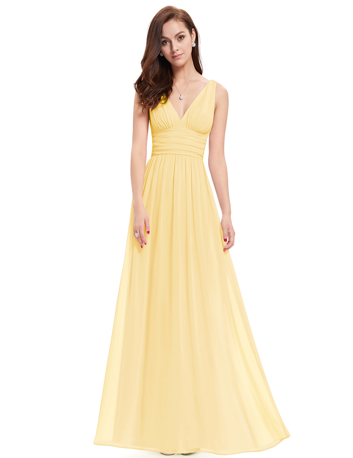 c146947a80 Ever-Pretty US Long Chiffon Bridesmaid Dresses Formal Evening Prom ...