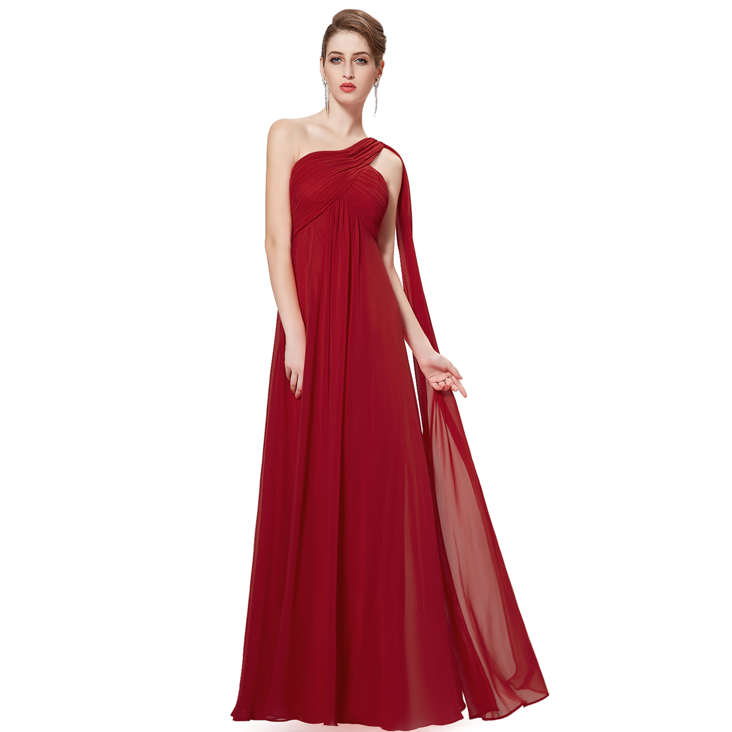 Ever Pretty One Shoulder Evening Dresses Wedding Guest