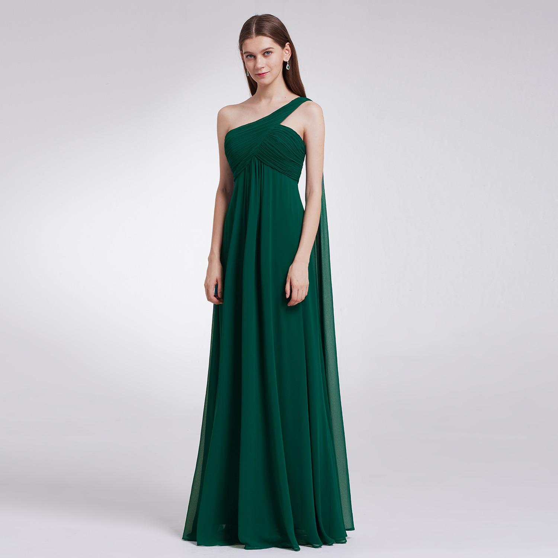 Ever-Pretty One Shoulder Evening Dresses Wedding Guest Bridesmaid ...