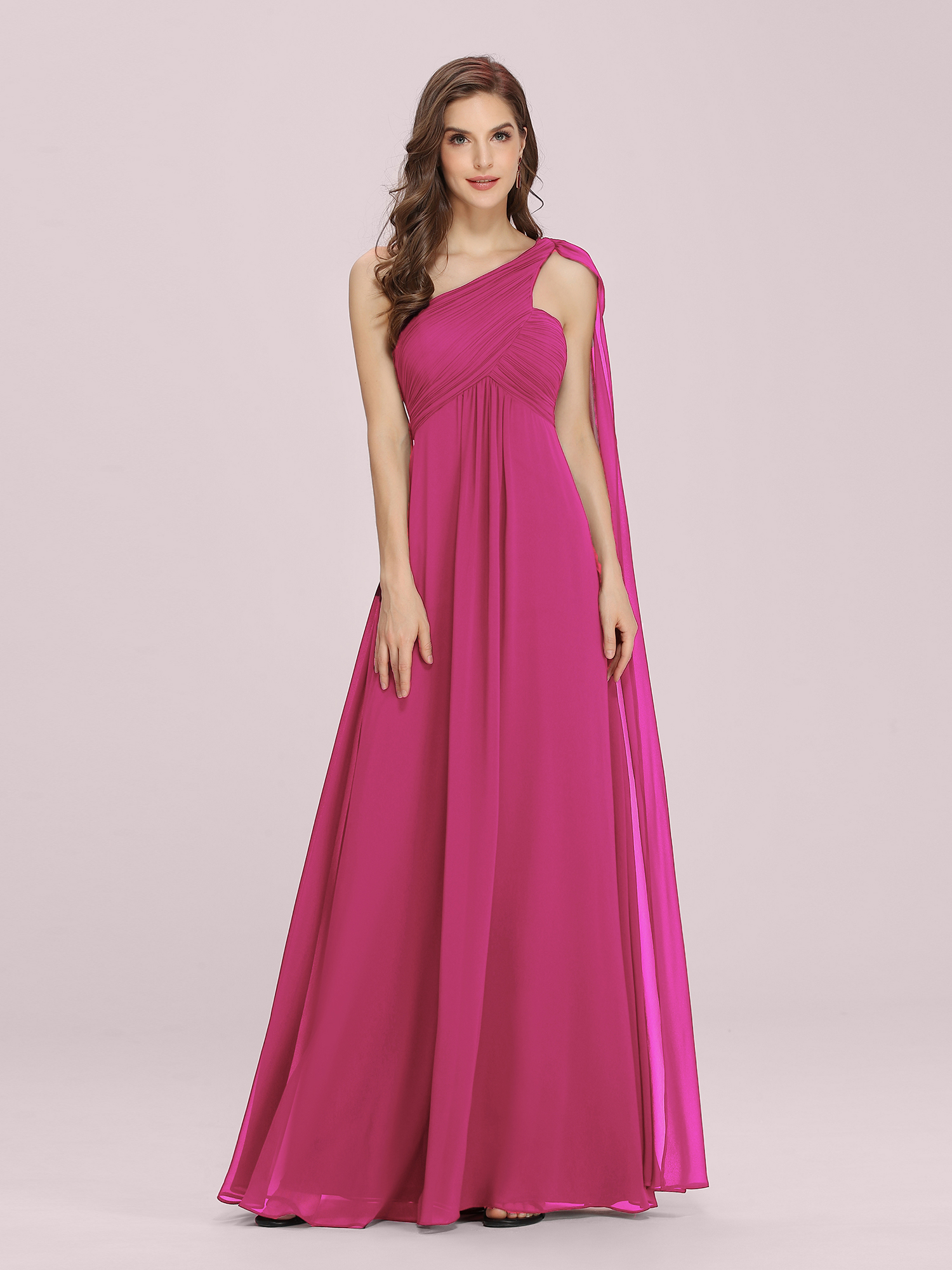 Ever-Pretty One Shoulder Evening Dresses Wedding Guest Bridesmaid ...