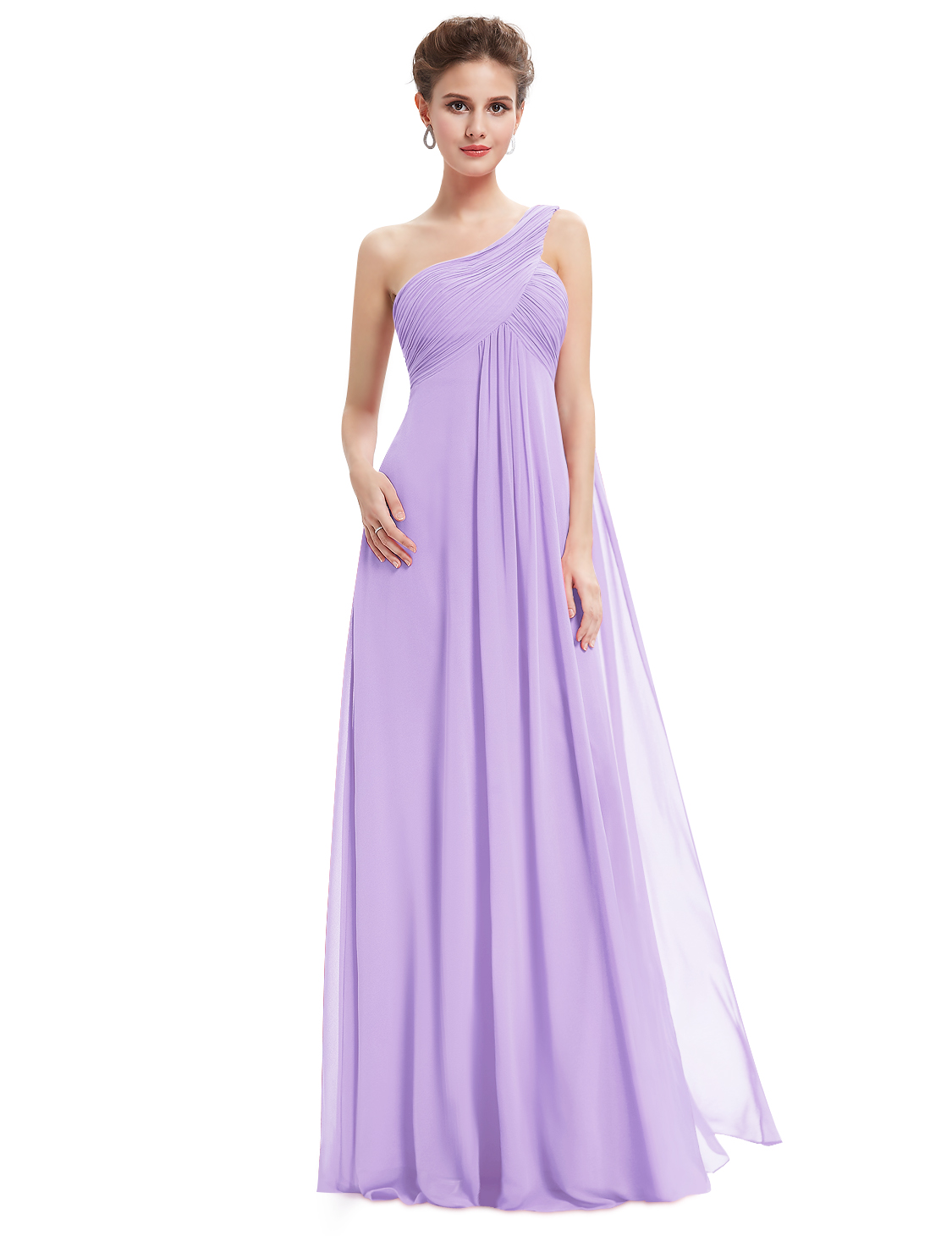 Ever-Pretty UK Long Women One Shoulder Prom Bridesmaid Evening Party ...