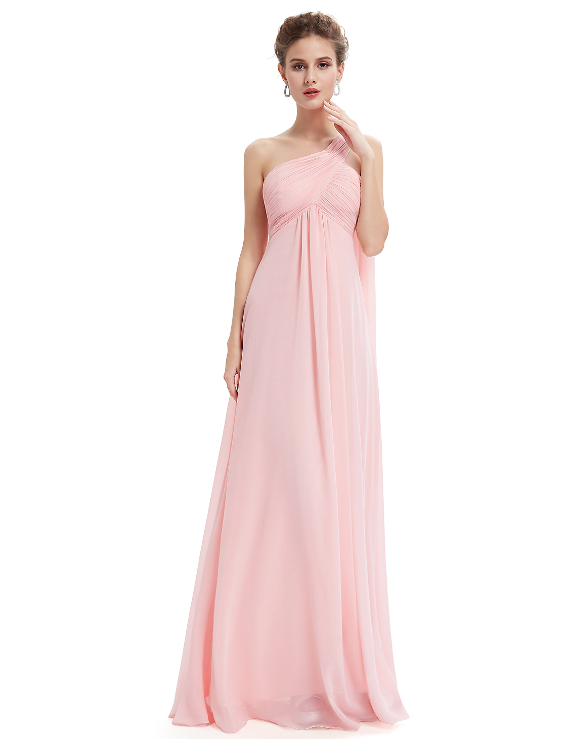 Ever-Pretty-Bridesmaid-Dresses-Chiffon-Ribbon-Long-Formal-Cocktail-Party-Dress thumbnail 22