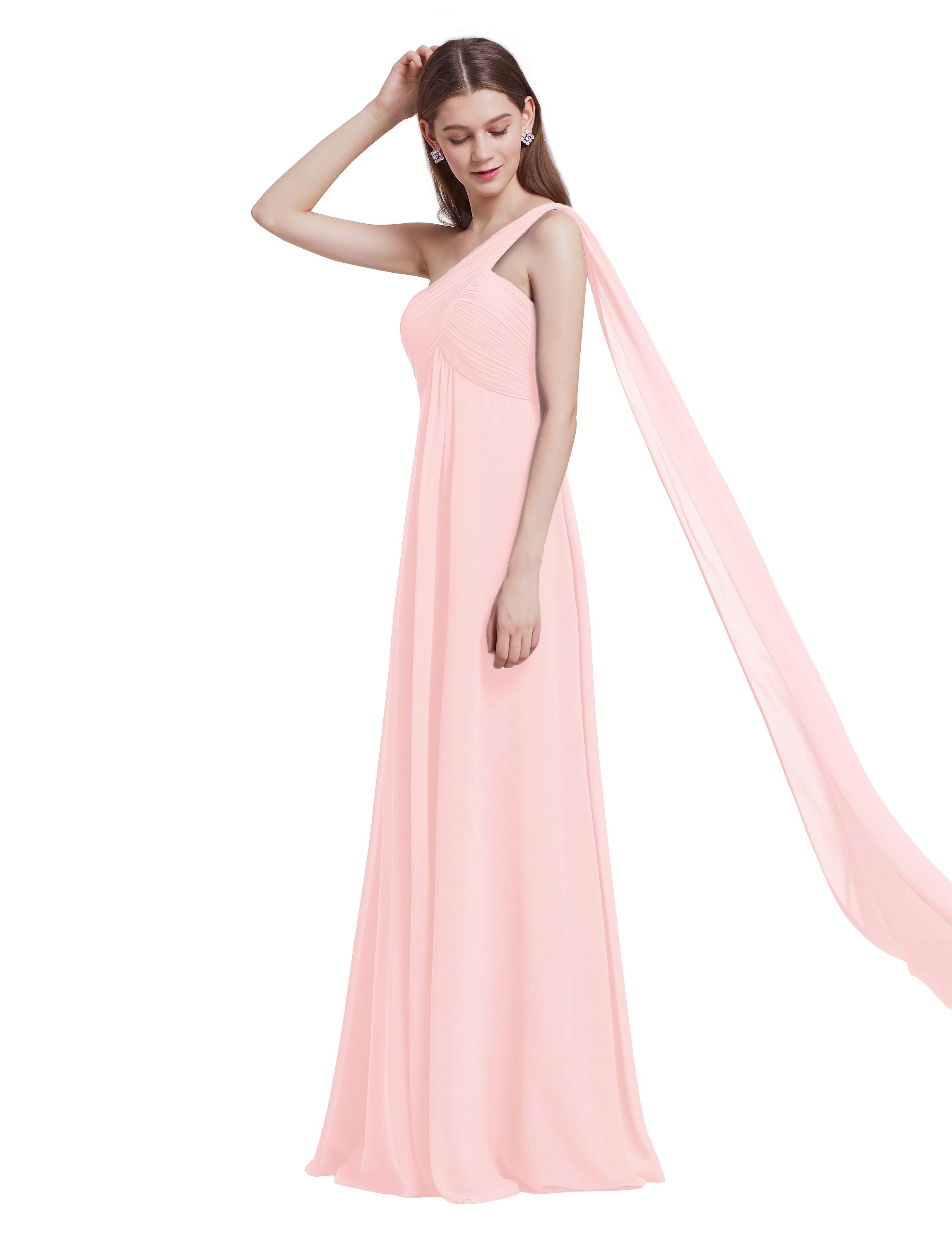Ever-Pretty-Bridesmaid-Dresses-Chiffon-Ribbon-Long-Formal-Cocktail-Party-Dress thumbnail 23