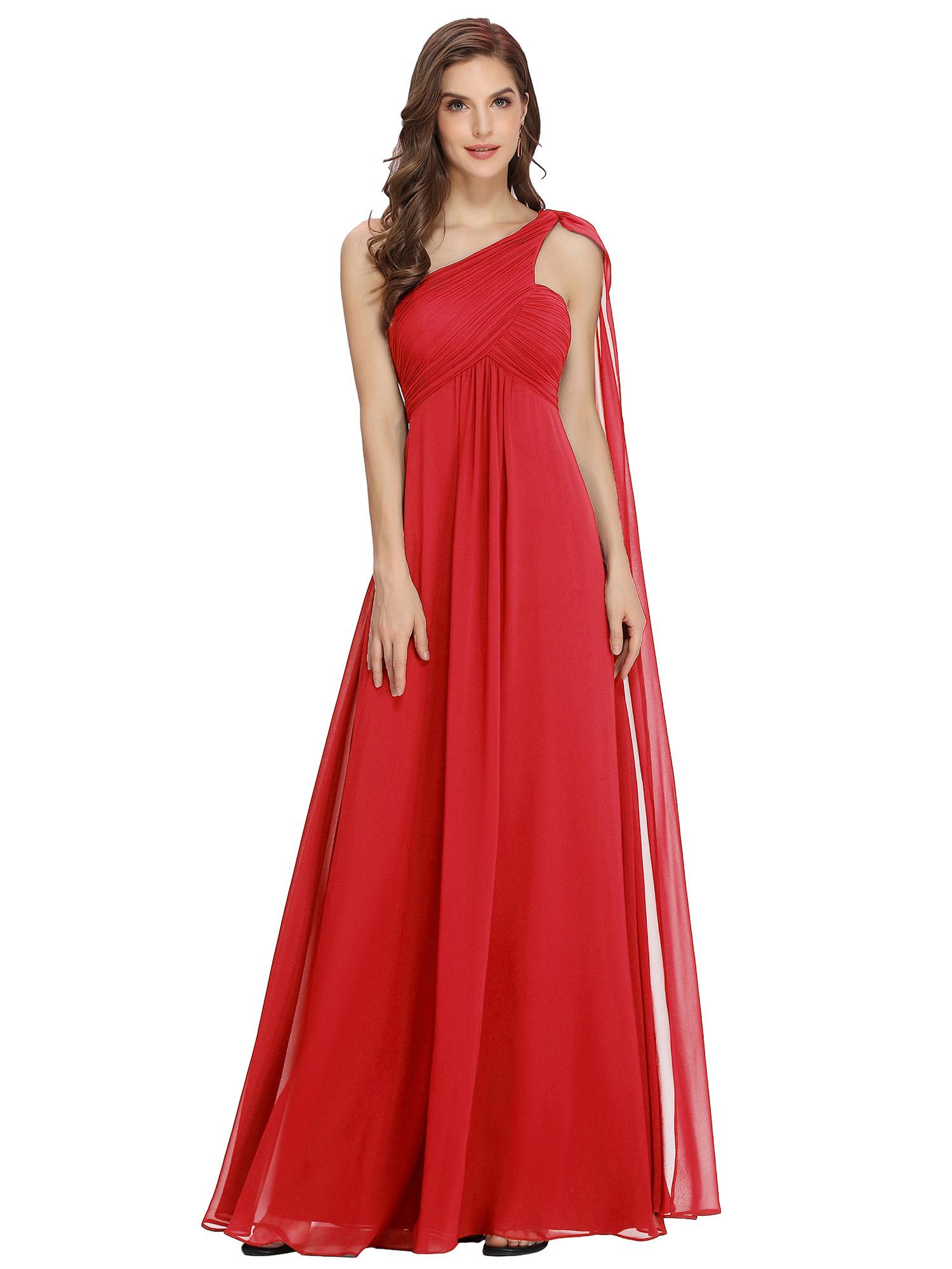 Ever-Pretty-Bridesmaid-Dresses-Chiffon-Ribbon-Long-Formal-Cocktail-Party-Dress thumbnail 28