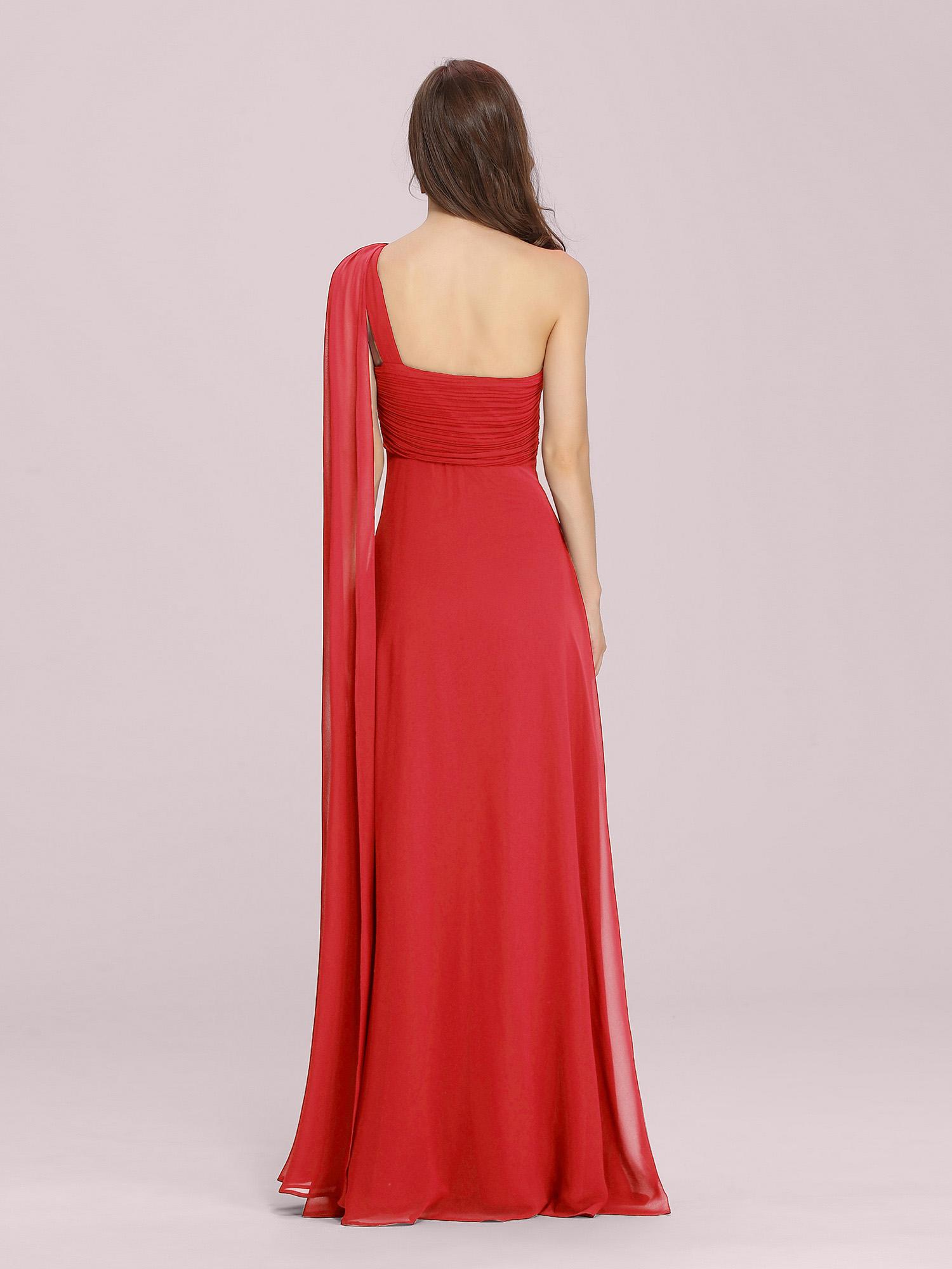Ever-Pretty-Bridesmaid-Dresses-Chiffon-Ribbon-Long-Formal-Cocktail-Party-Dress thumbnail 29