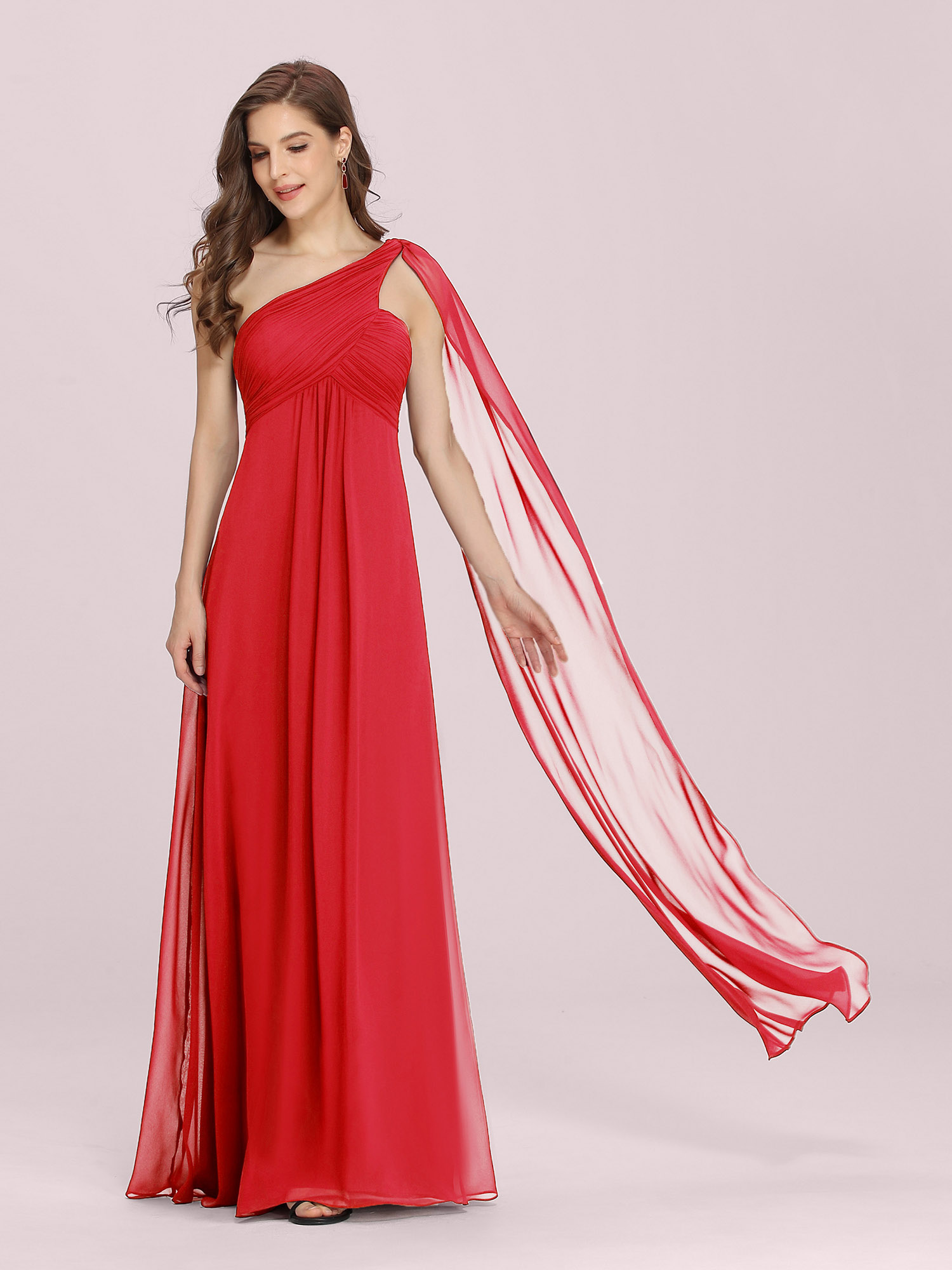 Ever-Pretty-Bridesmaid-Dresses-Chiffon-Ribbon-Long-Formal-Cocktail-Party-Dress thumbnail 31