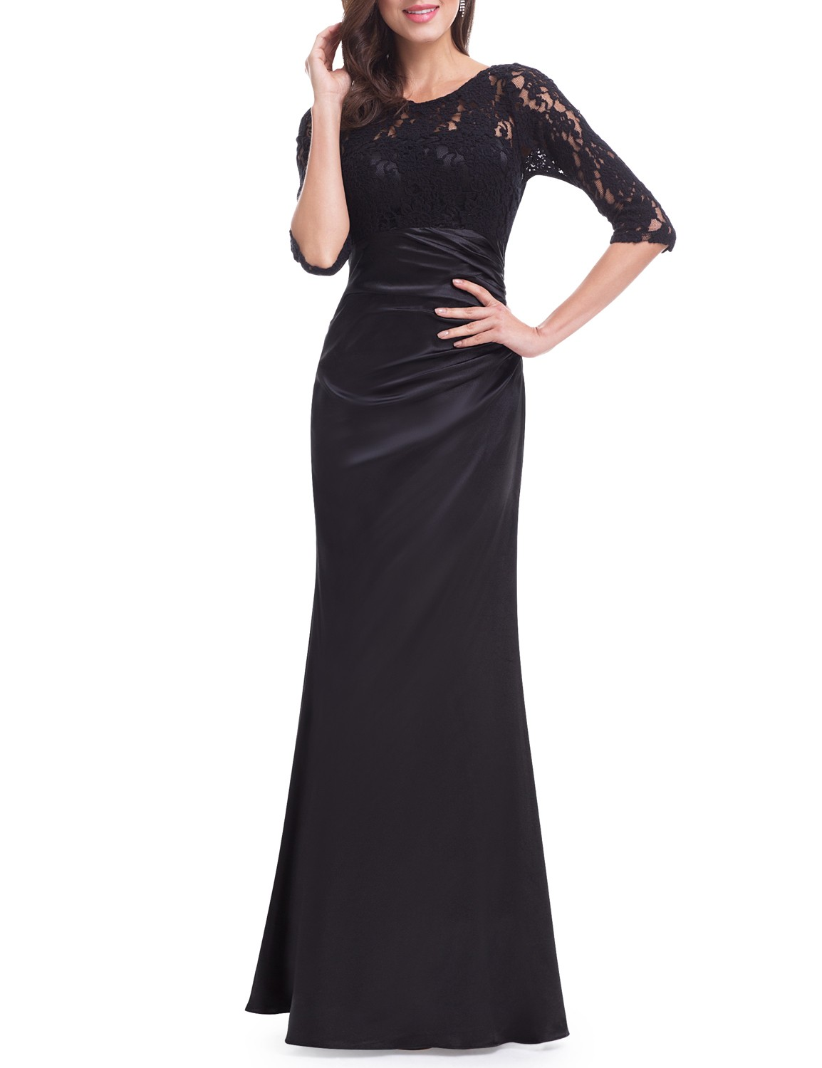 everpretty uk lace long sleeves evening ball gown wedding