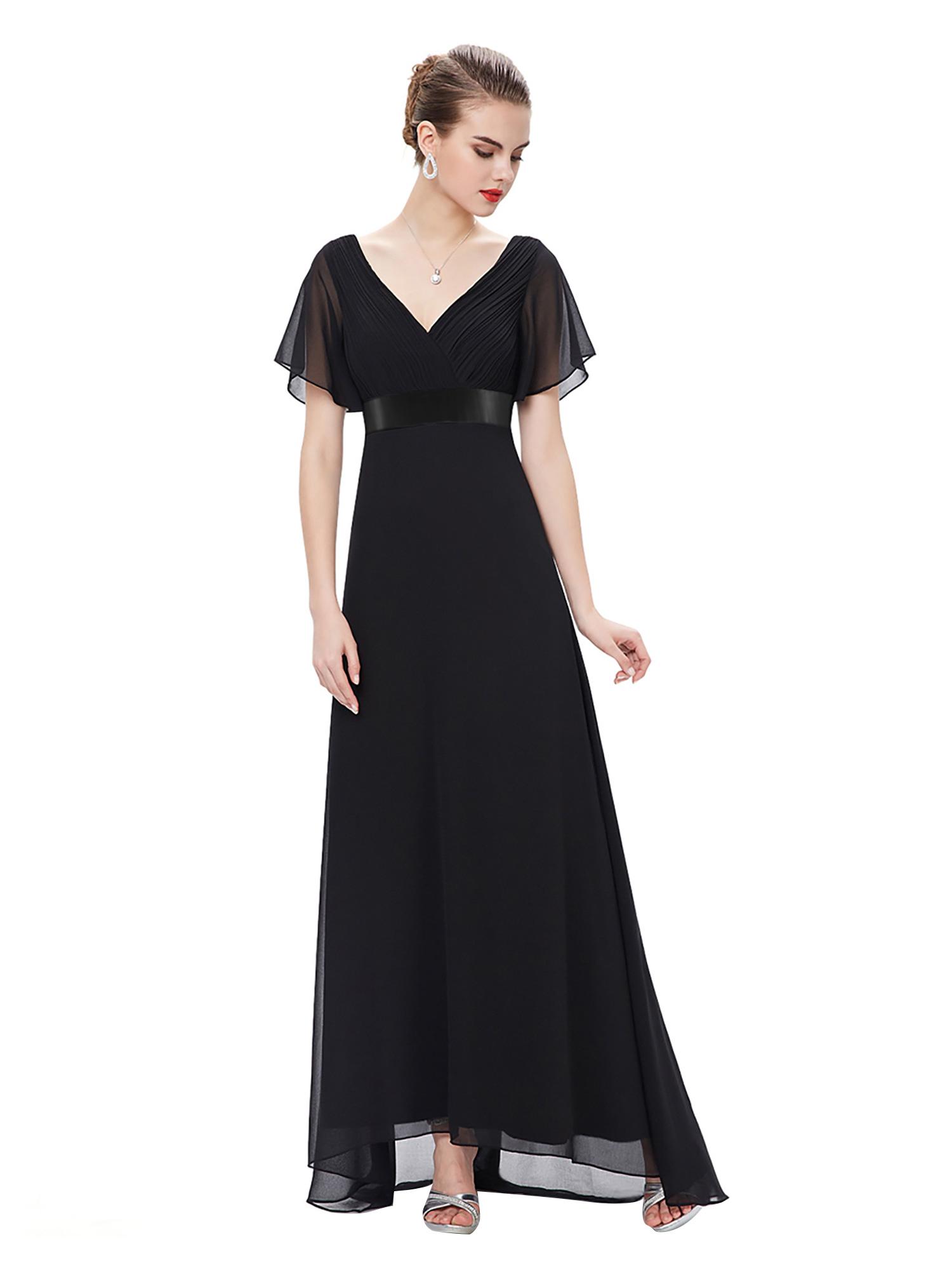 Черное Концертное Платье