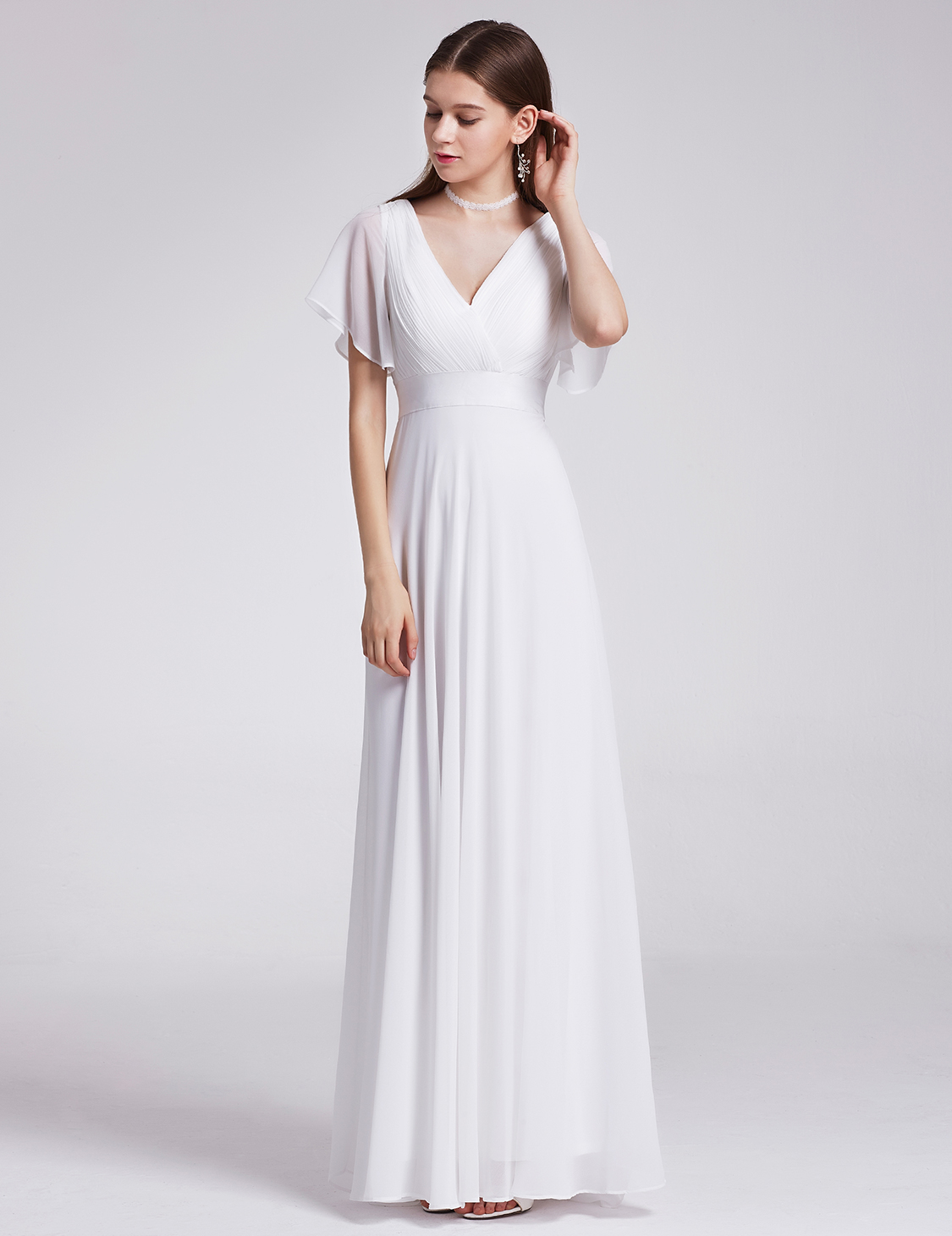 White Maxi Dresses Prom