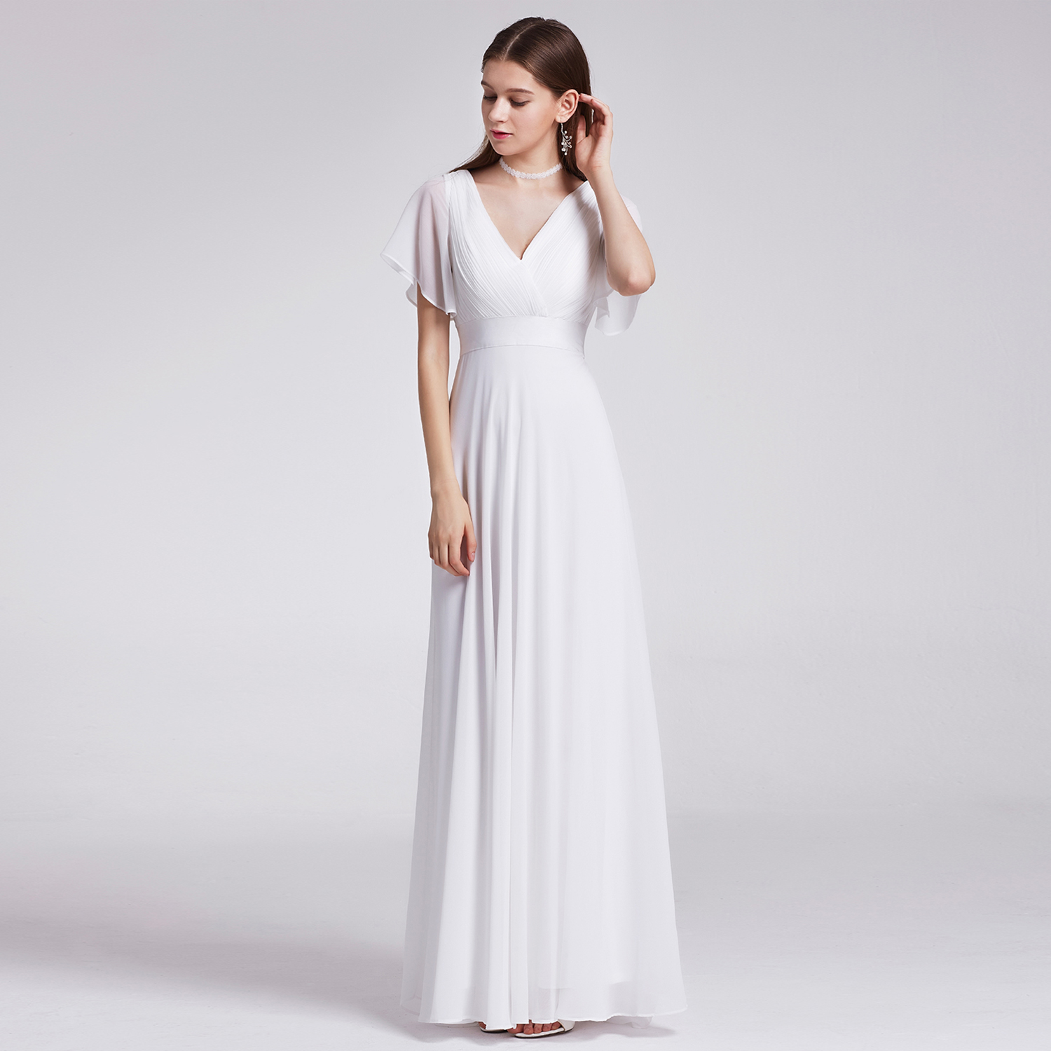 Ever-Pretty US Long Bridesmaid Wedding Maxi Dresses Evening Party ...