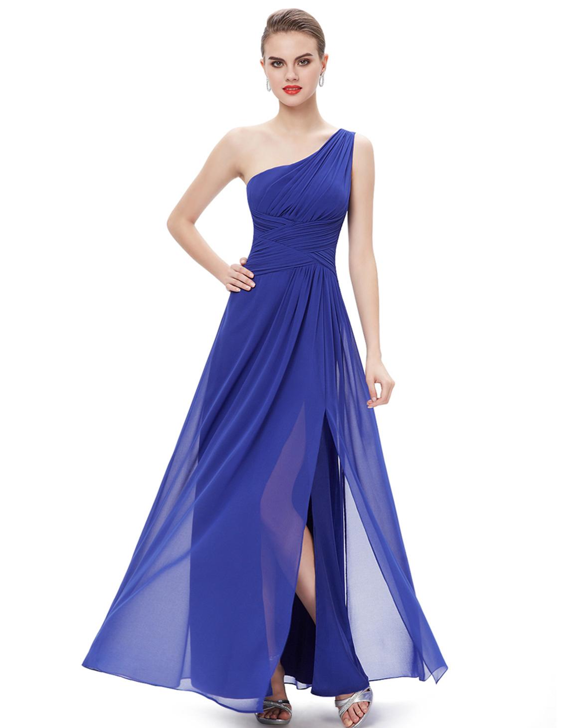 Fashion one shoulder bridesmaid dresses homecoming party gown fashion one shoulder bridesmaid dresses homecoming party gown ombrellifo Images