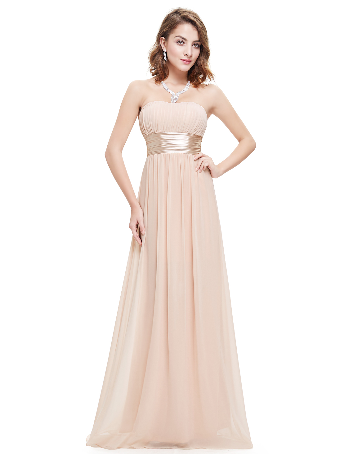 b19f69bf7d US Long Strapless Women Ball Prom Gown Bridesmaid Maxi Long Party ...
