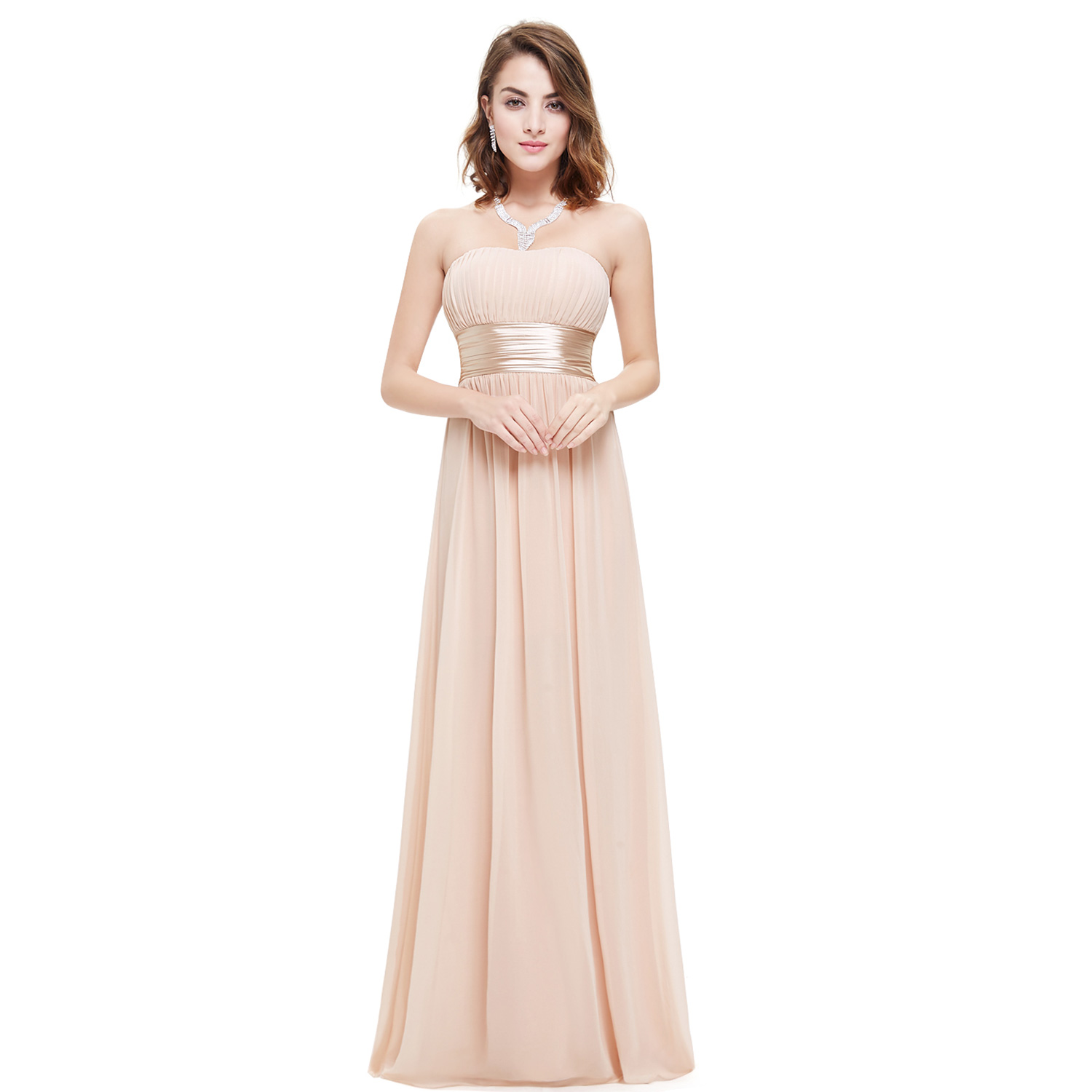 evening wedding guest dresses pretty strapless bridesmaid dress wedding guest 3947