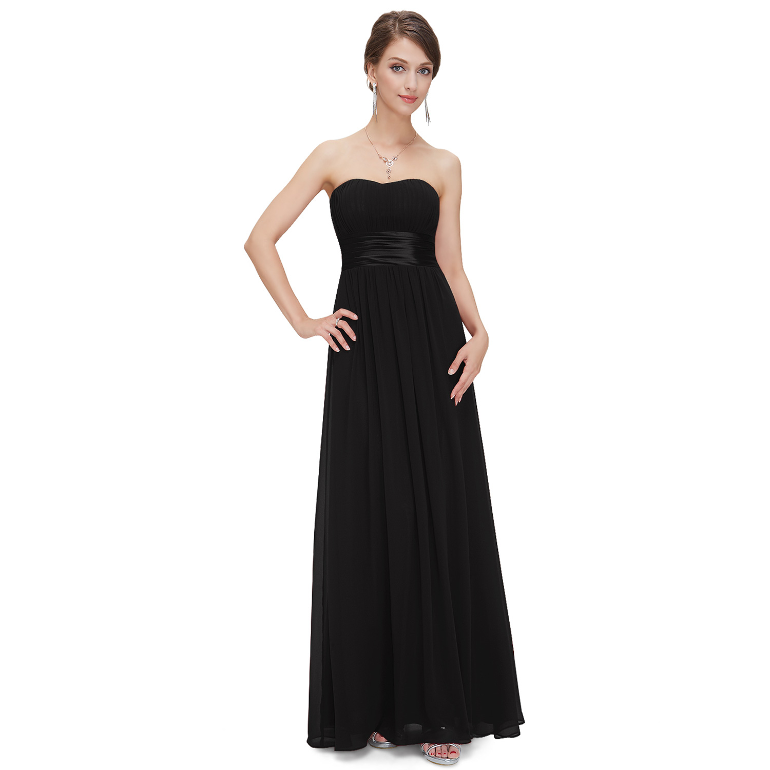 Ever-Pretty Long Formal Evening Dress off Shoulder Bridesmaid Prom ...