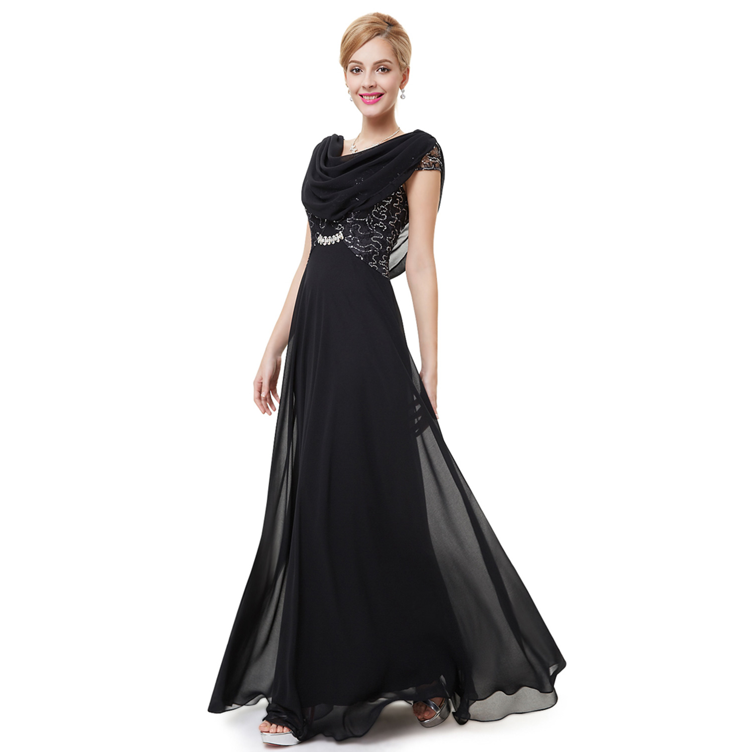 Ever-Pretty Beaded Formal Evening Prom Gowns Long Mother