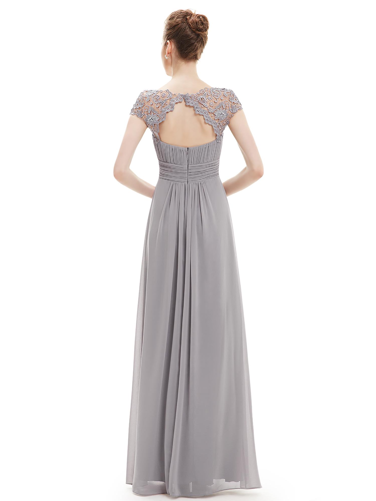 Ever-Pretty Women Lace Bridesmaid Wedding Dresses Formal Evening ...
