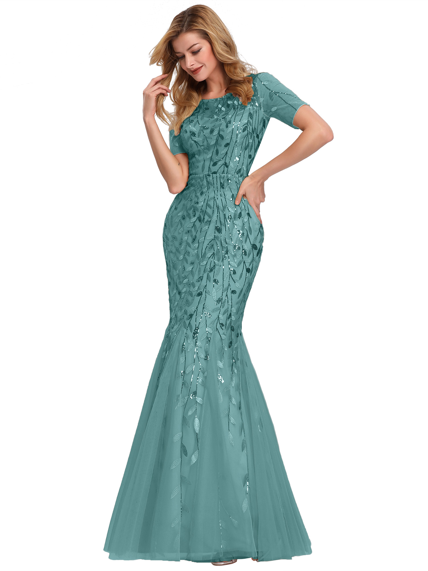Ever-pretty-US-Mermaid-Evening-Party-Dresses-Formal-Cocktail-Celebrity-Prom-Gown thumbnail 4
