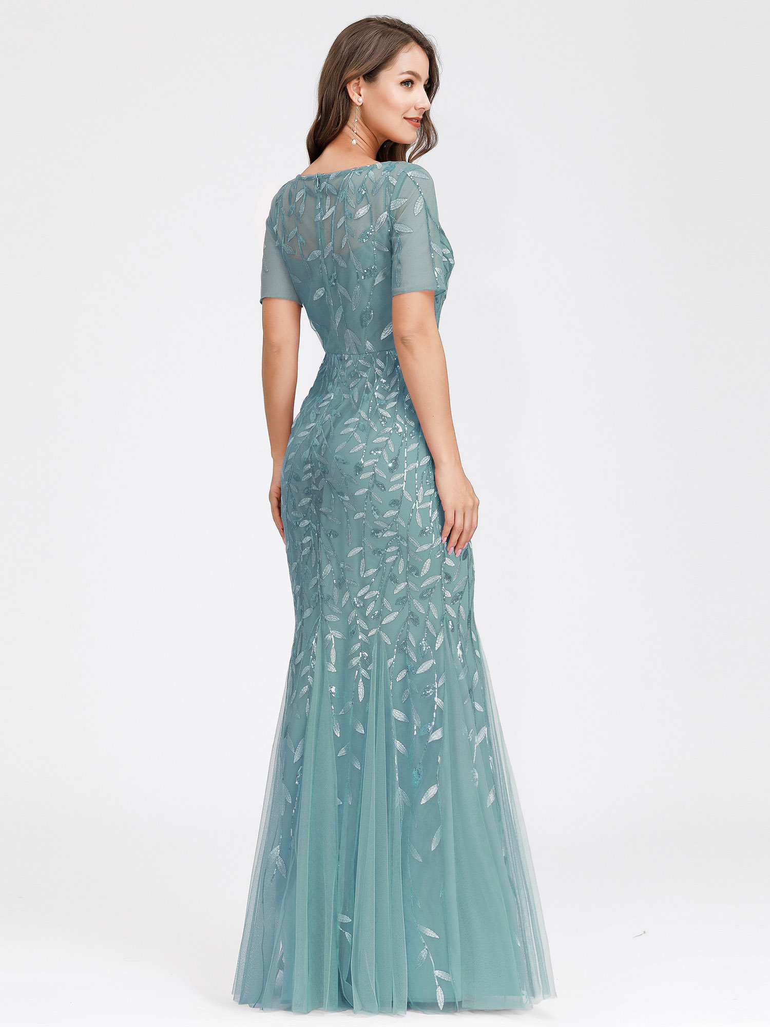 Ever-pretty-US-Mermaid-Evening-Party-Dresses-Formal-Cocktail-Celebrity-Prom-Gown thumbnail 5