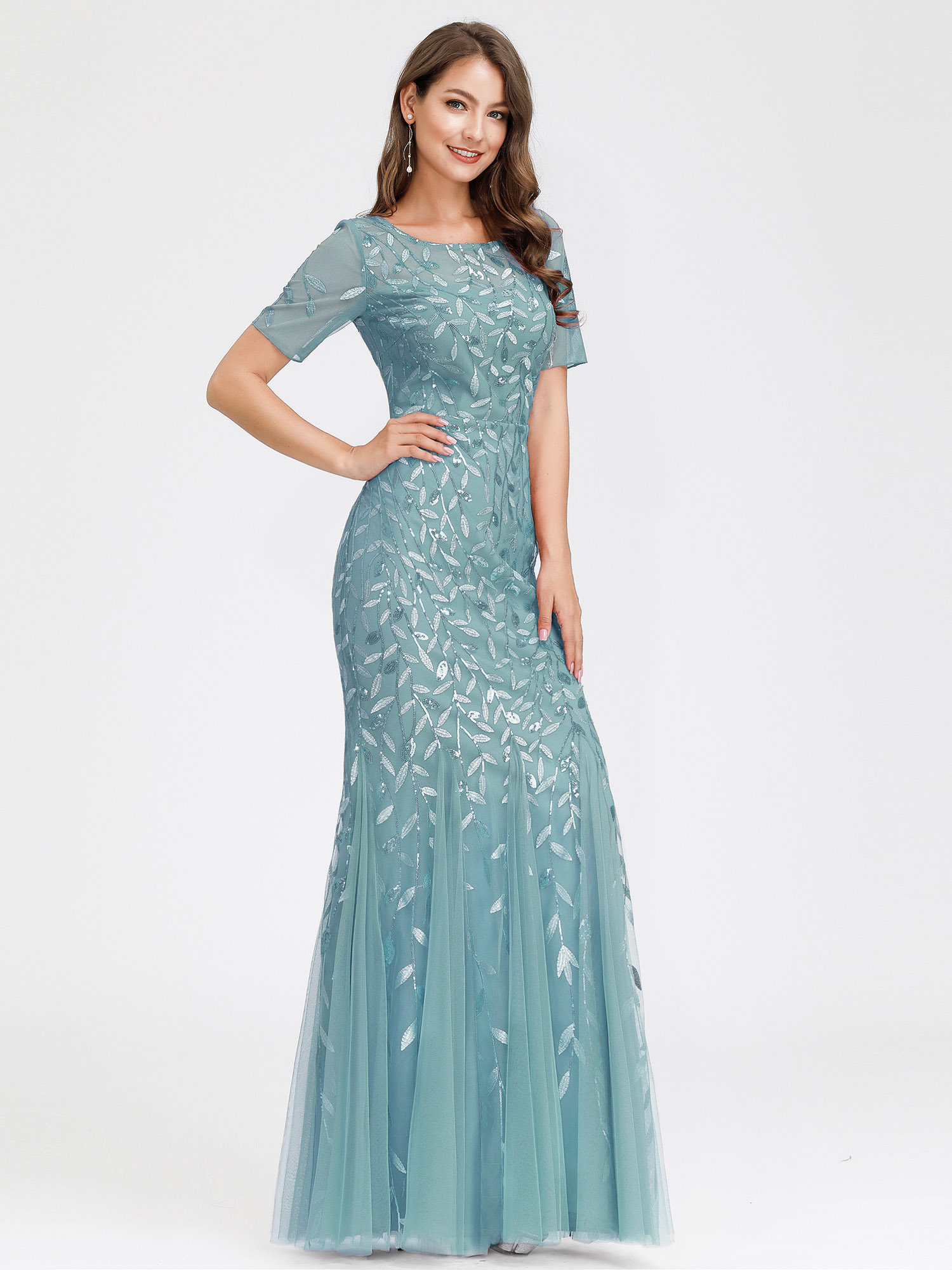 Ever-pretty-US-Mermaid-Evening-Party-Dresses-Formal-Cocktail-Celebrity-Prom-Gown thumbnail 6