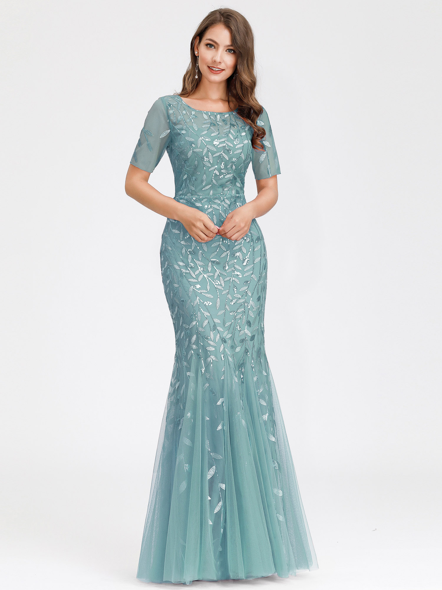 Ever-pretty-US-Mermaid-Evening-Party-Dresses-Formal-Cocktail-Celebrity-Prom-Gown thumbnail 7