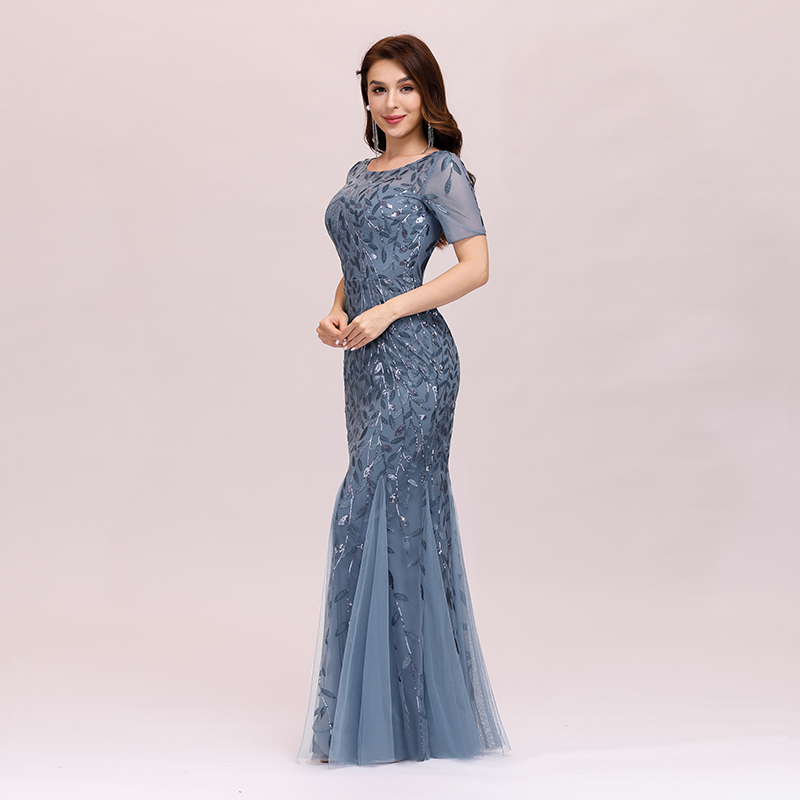 Ever-pretty-Plus-Size-Sequins-Bridesmaid-Dresses-Mermaid-Evening-Party-Prom-Gown thumbnail 26