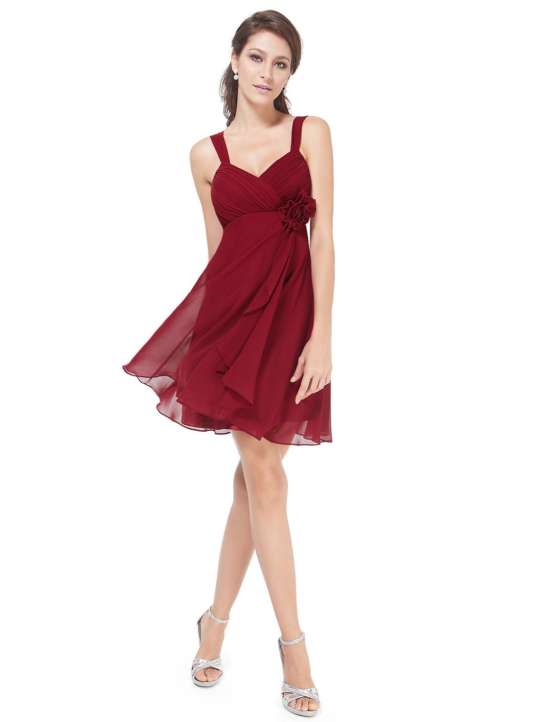 cute short bridesmaid party dresses homecoming dresses