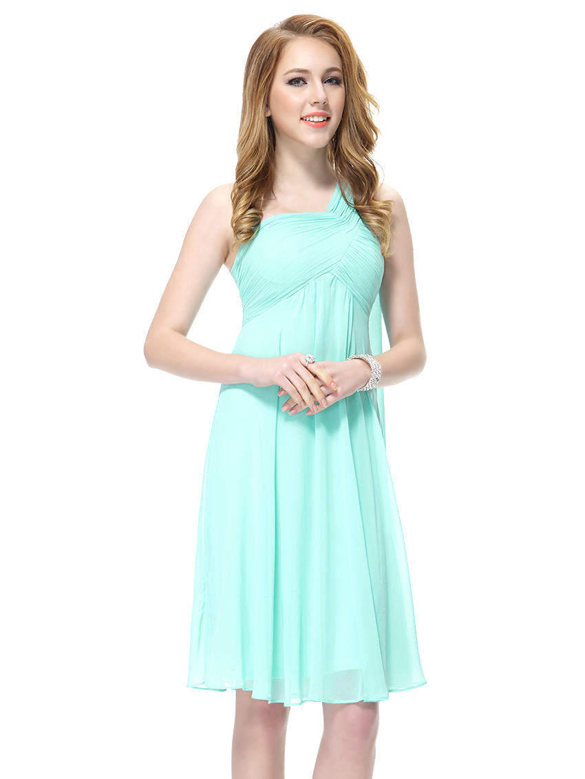 Ever-pretty Short One-shoulder Bridesmaid Party Dresses Cocktail ...