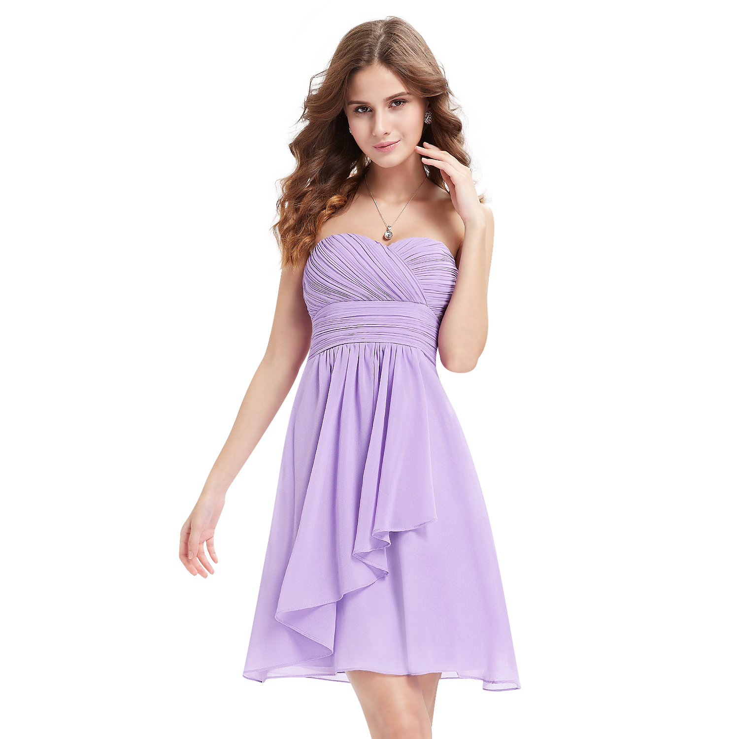 Cute Strapless Short Mini Bridesmaid Party Dresses Cocktail Party ...