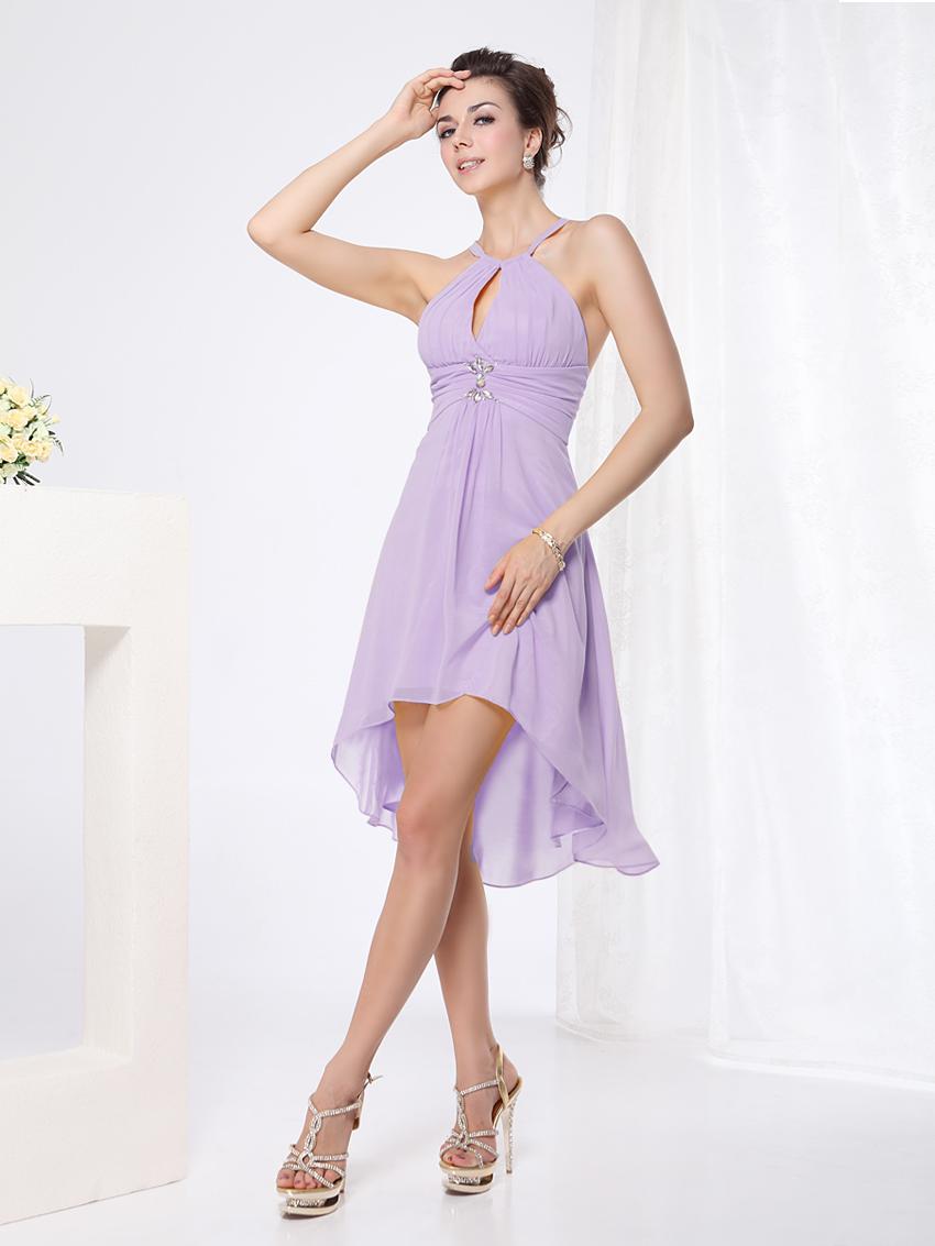 Ever pretty sexy yellow cheap short bridesmaid dresses for Cheap wedding dresses ebay