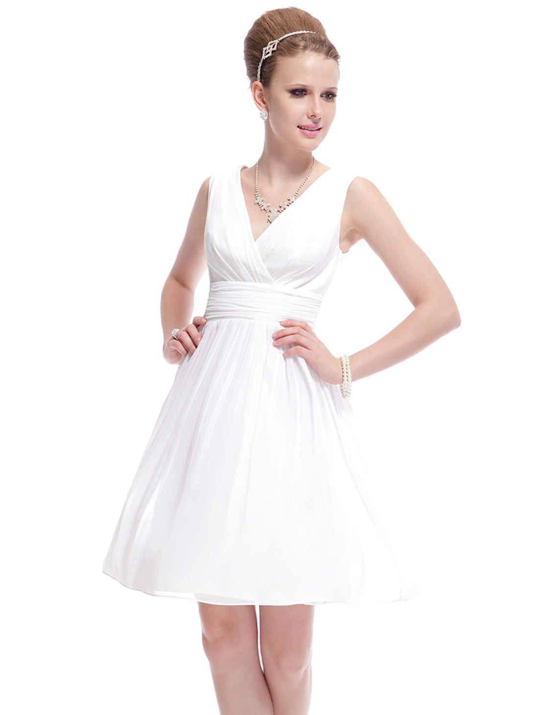 Cute Short Mini Homecoming Party Dress Bridesmaid Prom Gowns 03989 ...