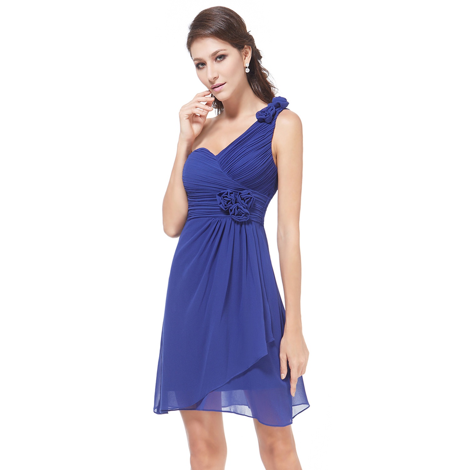 Ever-Pretty Formal Bridesmaid Dresses Ball One Shoulder Cocktail ...