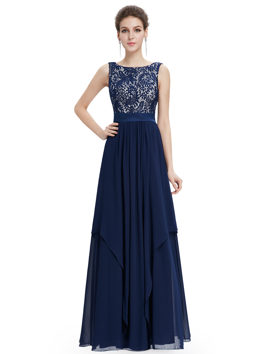 Ever pretty new long maxi bridesmaid party gown evening for Ever pretty wedding dresses