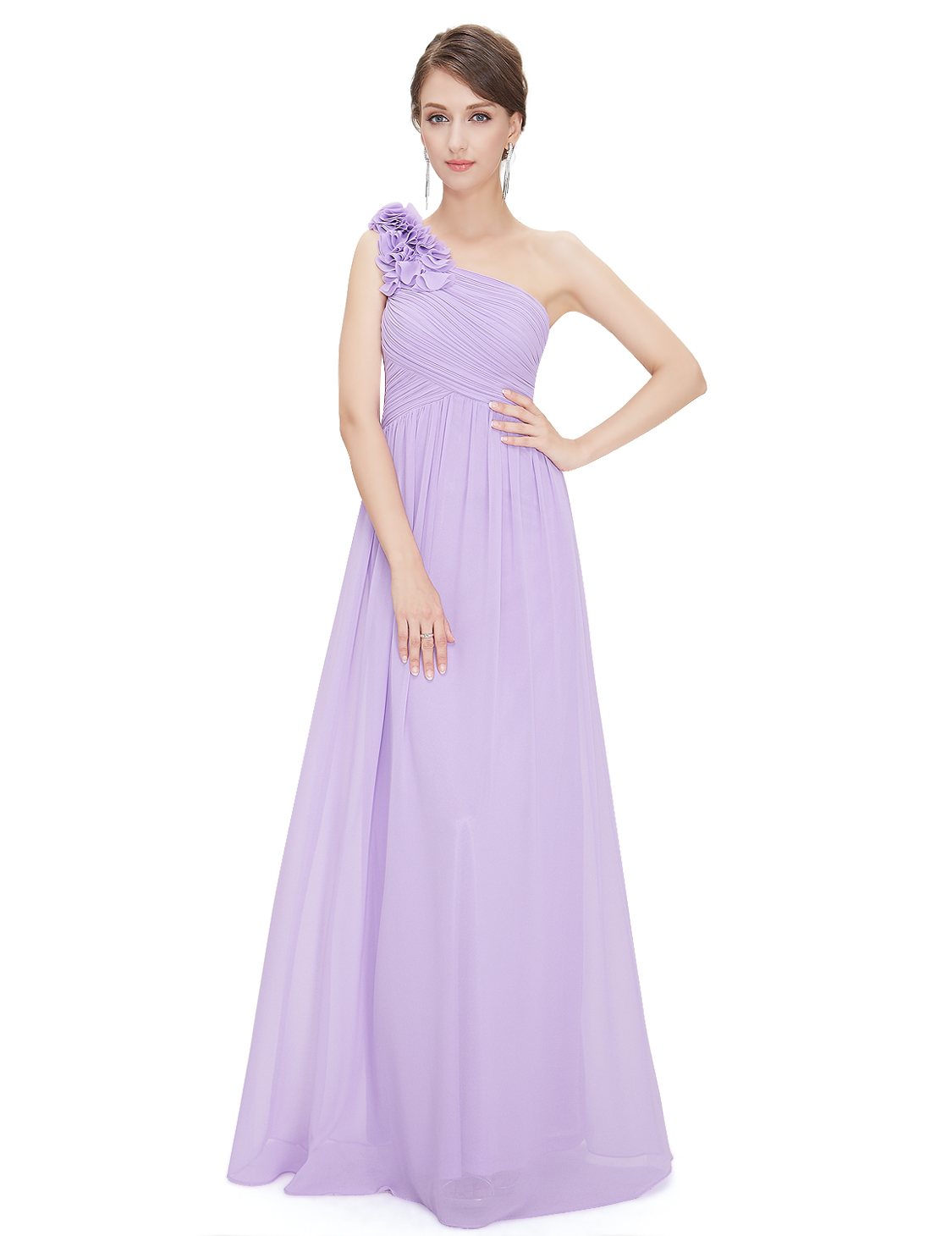 Womens one shoulder bridesmaid dress long prom evening formal women 039 s one shoulder bridesmaid dress long ombrellifo Gallery