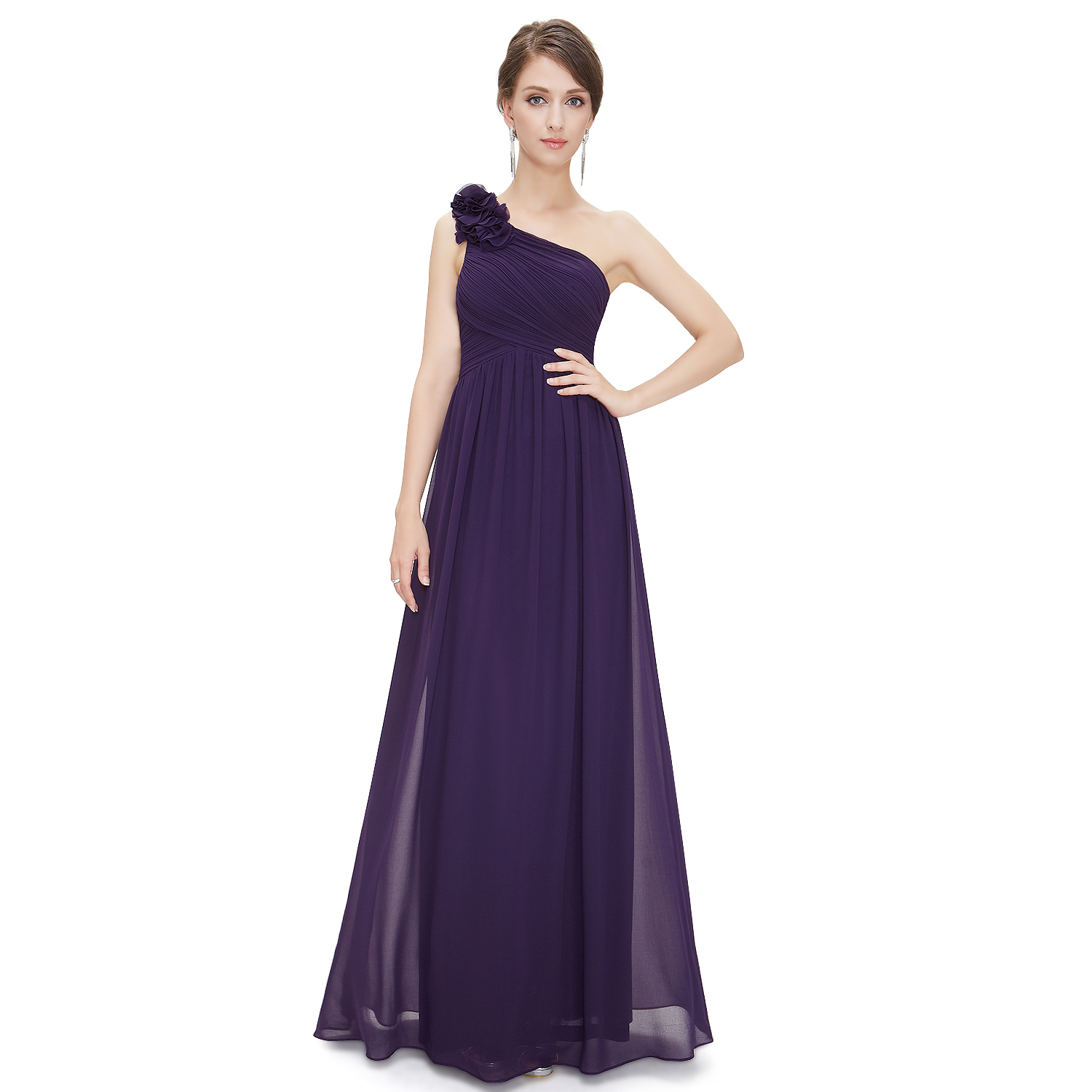 One Shoulder Dress. Showing just a hint of skin, one shoulder dresses are the perfect compromise between sexy and elegant. A one shoulder dress works well for any dressy occasion, and you can easily change the look of a one shoulder dress by adding the right accessories.