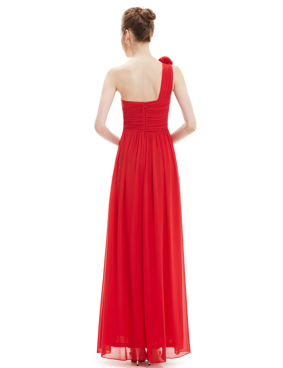 f665780d3c3 ... Ever-Pretty One Shoulder Bridesmaid Dress Long Prom Evening Formal  Formal Formal Dress 08237 16d866 ...