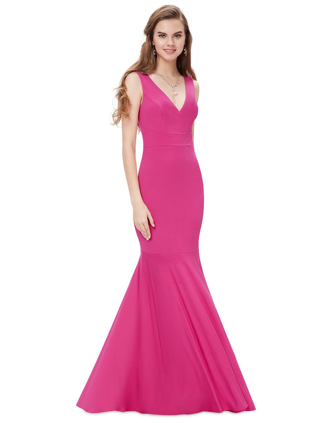 Vestido de boda Ever-Pretty Sirena Formal Baile de graduación Fiesta ...