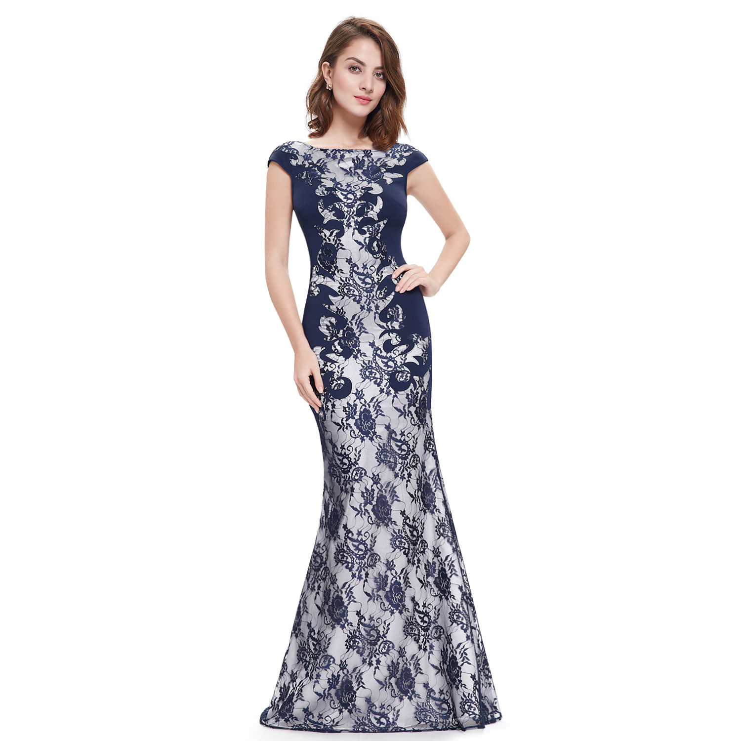 Mermaid Evening Dresses Formal Pageant Bridesmaid Ball Gown 08338 ...