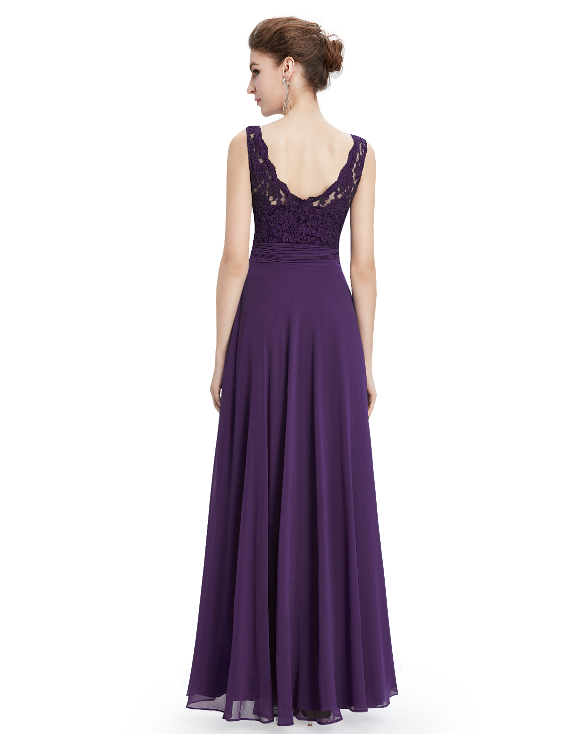 Womens Lace Bridesmaid Dresses Formal Evening Prom Ball Gown 08352 ...