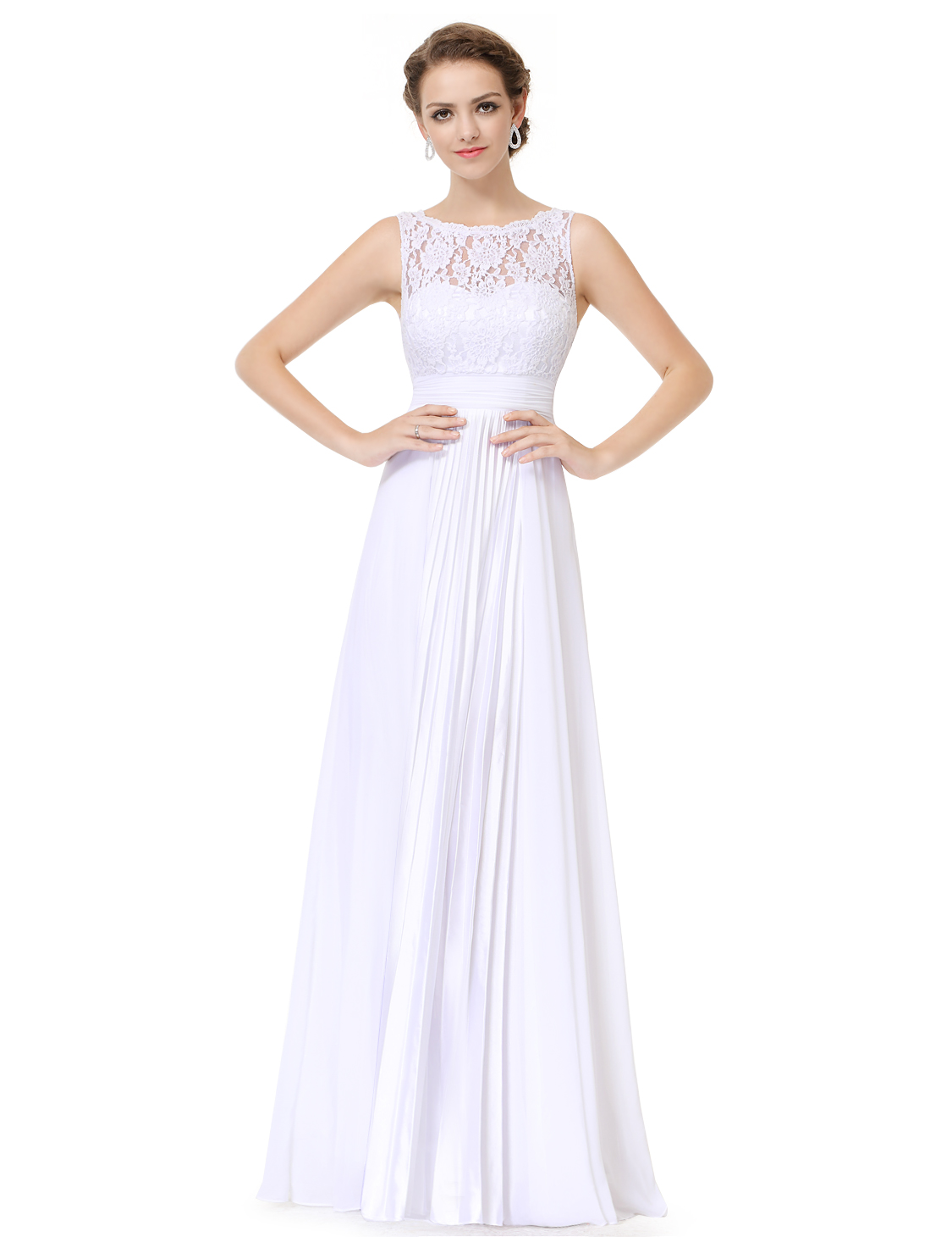 Ever Pretty Formal Wedding Bridesmaid Long Evening Party Gown