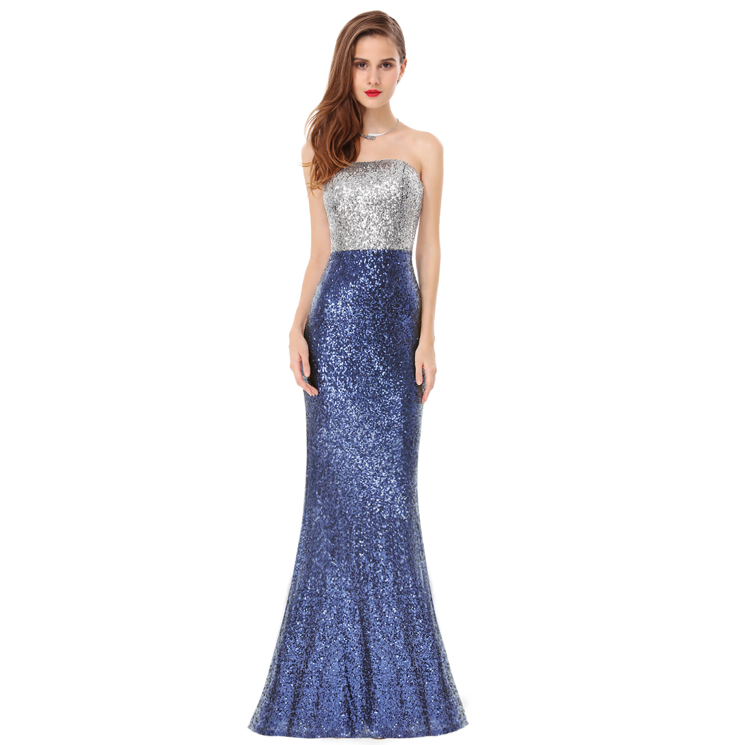 Ever-Pretty 2017 Mermaid Prom Dress Pageant Party Dresses Evening ...