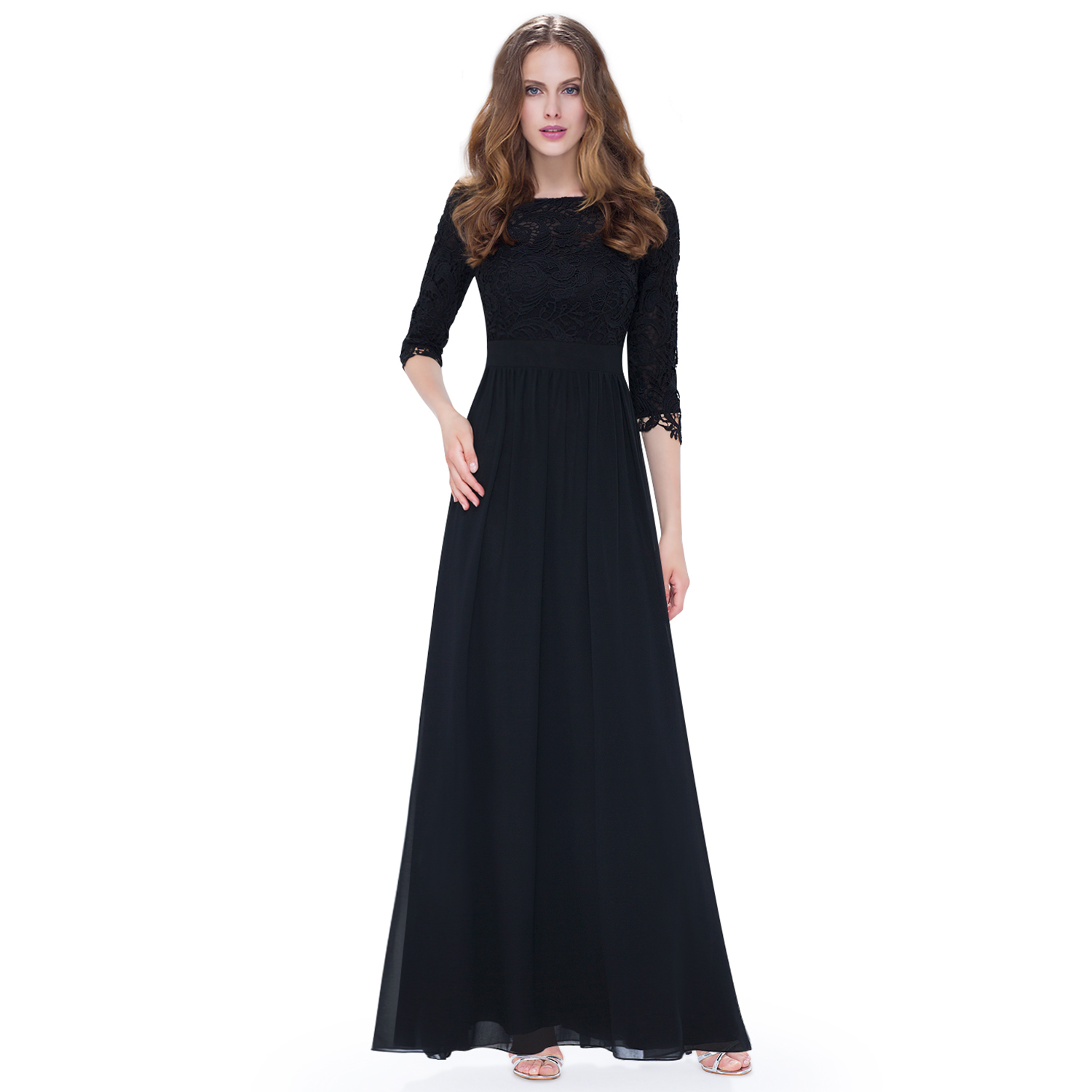 ever pretty women long lace evening party dress bridesmaid